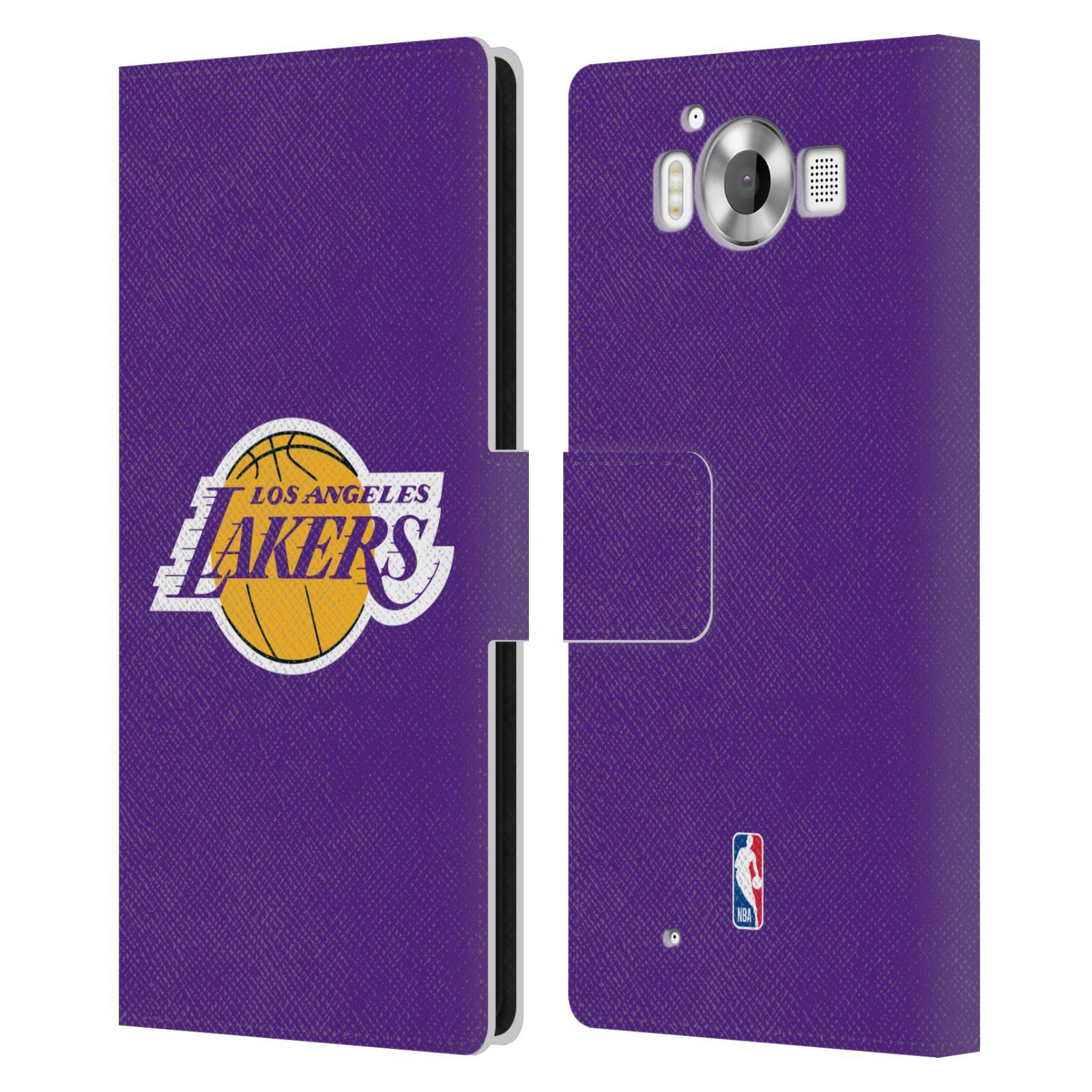 Pouzdro na mobil Nokia Lumia 950 - Head Case - NBA - Los Angeles Lakers