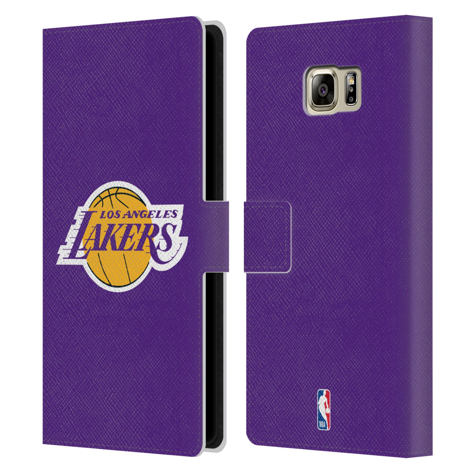 Pouzdro na mobil Samsung Galaxy NOTE 5 - Head Case - NBA - Los Angeles Lakers