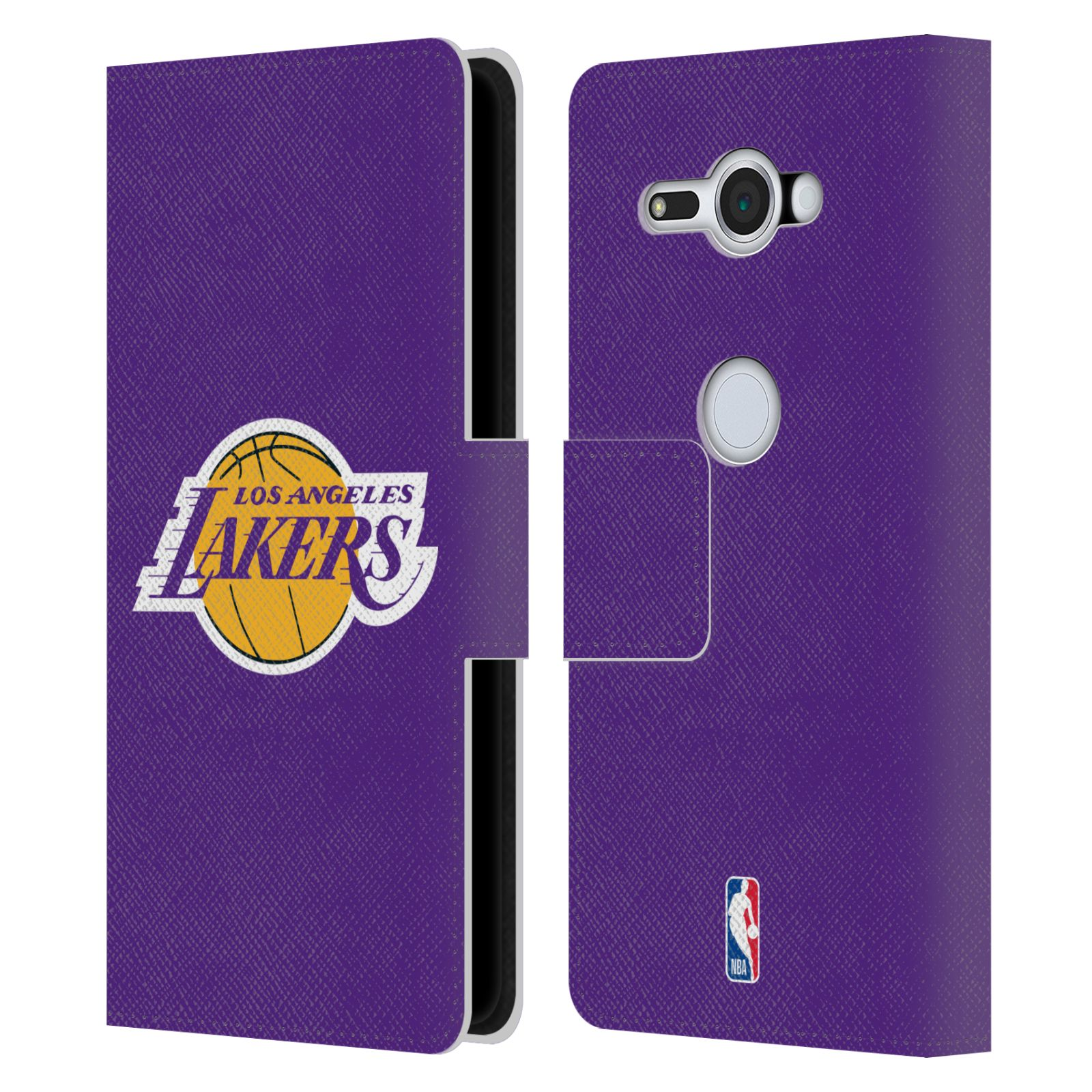 Pouzdro na mobil Sony Xperia XZ2 Compact - Head Case - NBA - Los Angeles Lakers