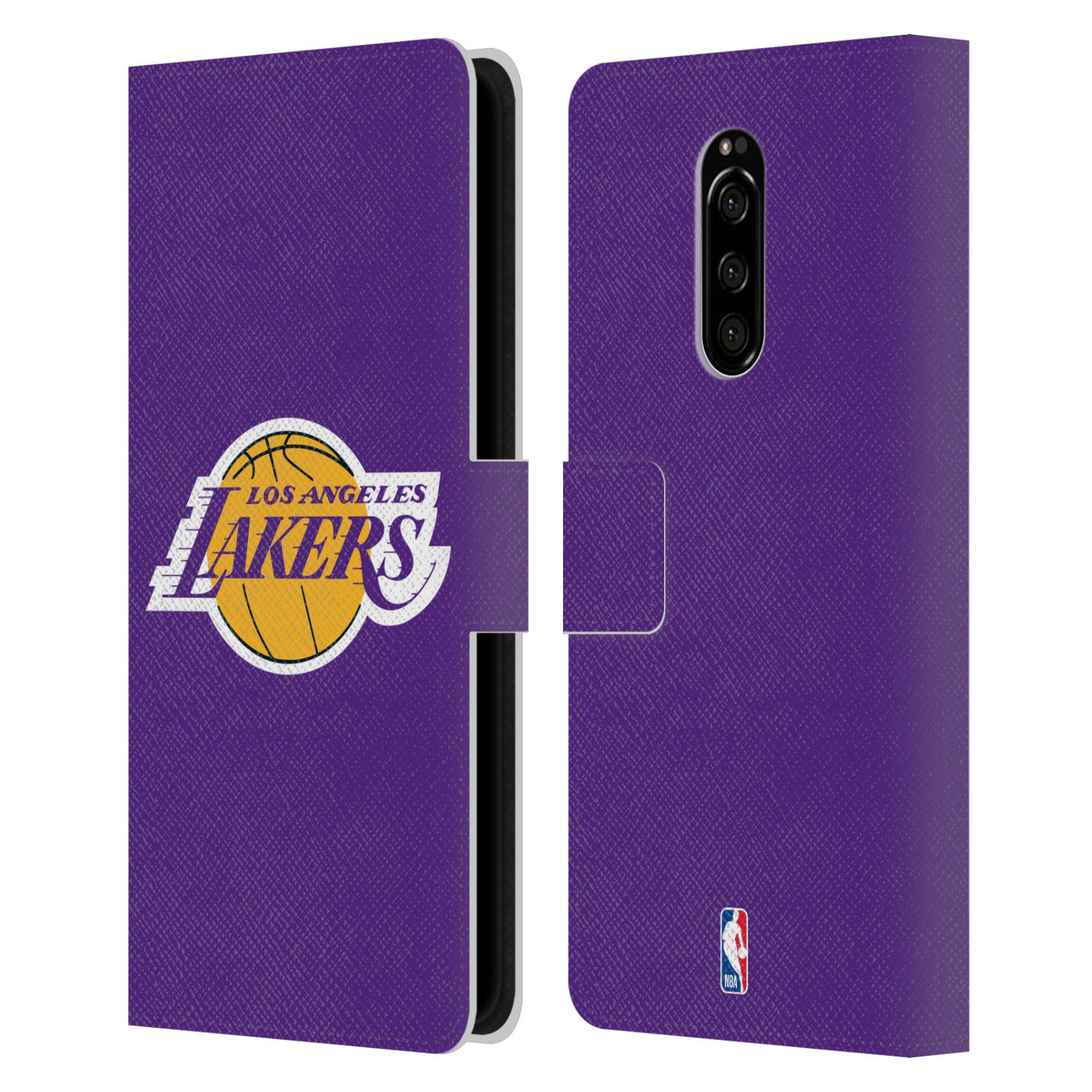 Pouzdro na mobil Sony Xperia 1 - Head Case - NBA - Los Angeles Lakers