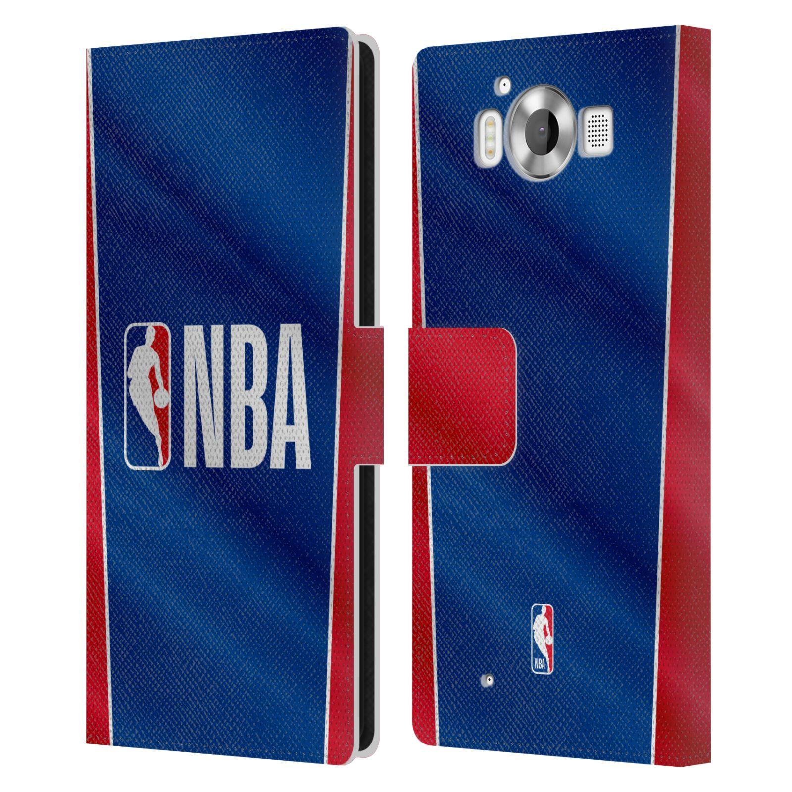 Pouzdro na mobil Nokia Lumia 950 - Head Case - NBA - Logo a pruhy
