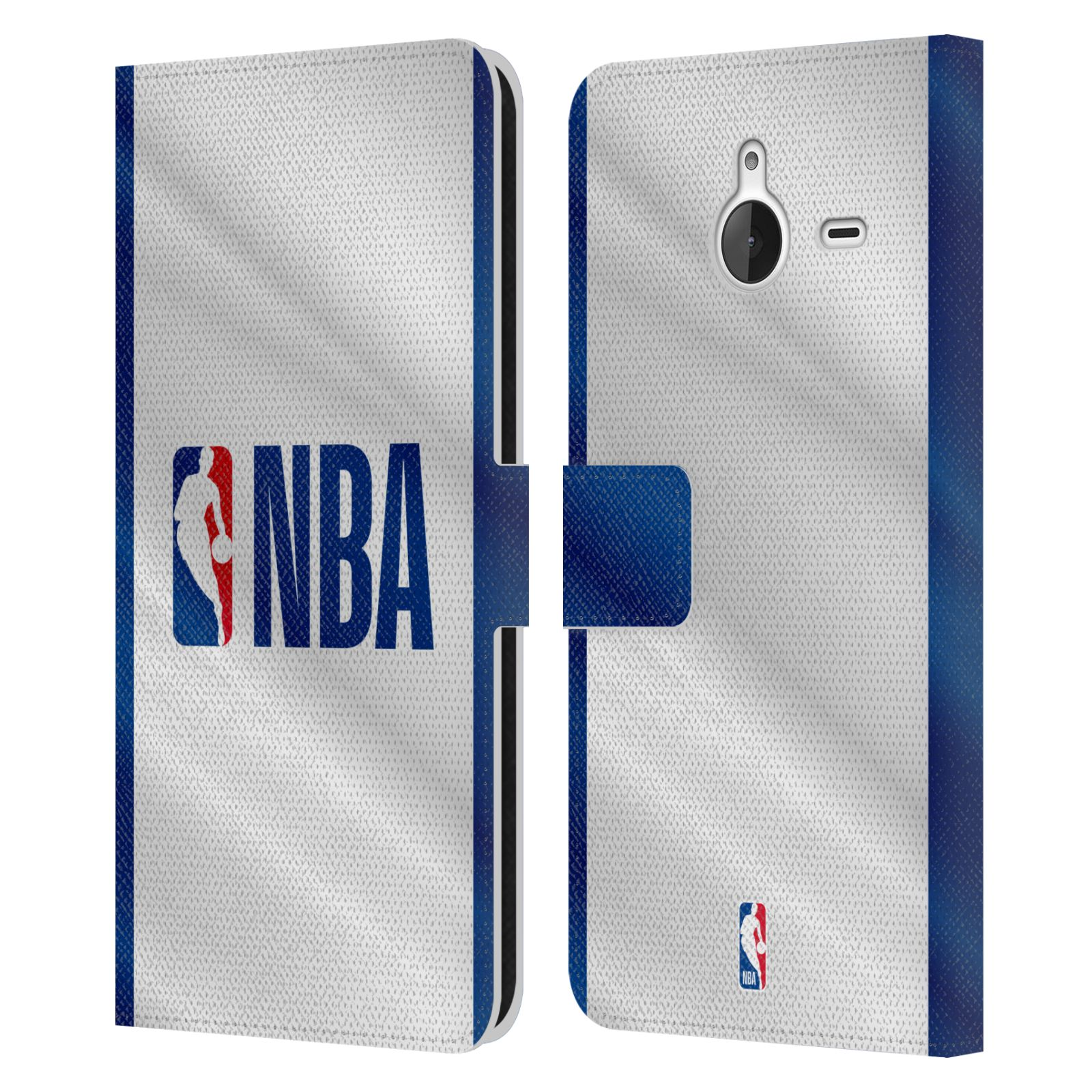 Pouzdro na mobil Nokia Lumia 640 XL - Head Case - NBA - Logo modré pruhy