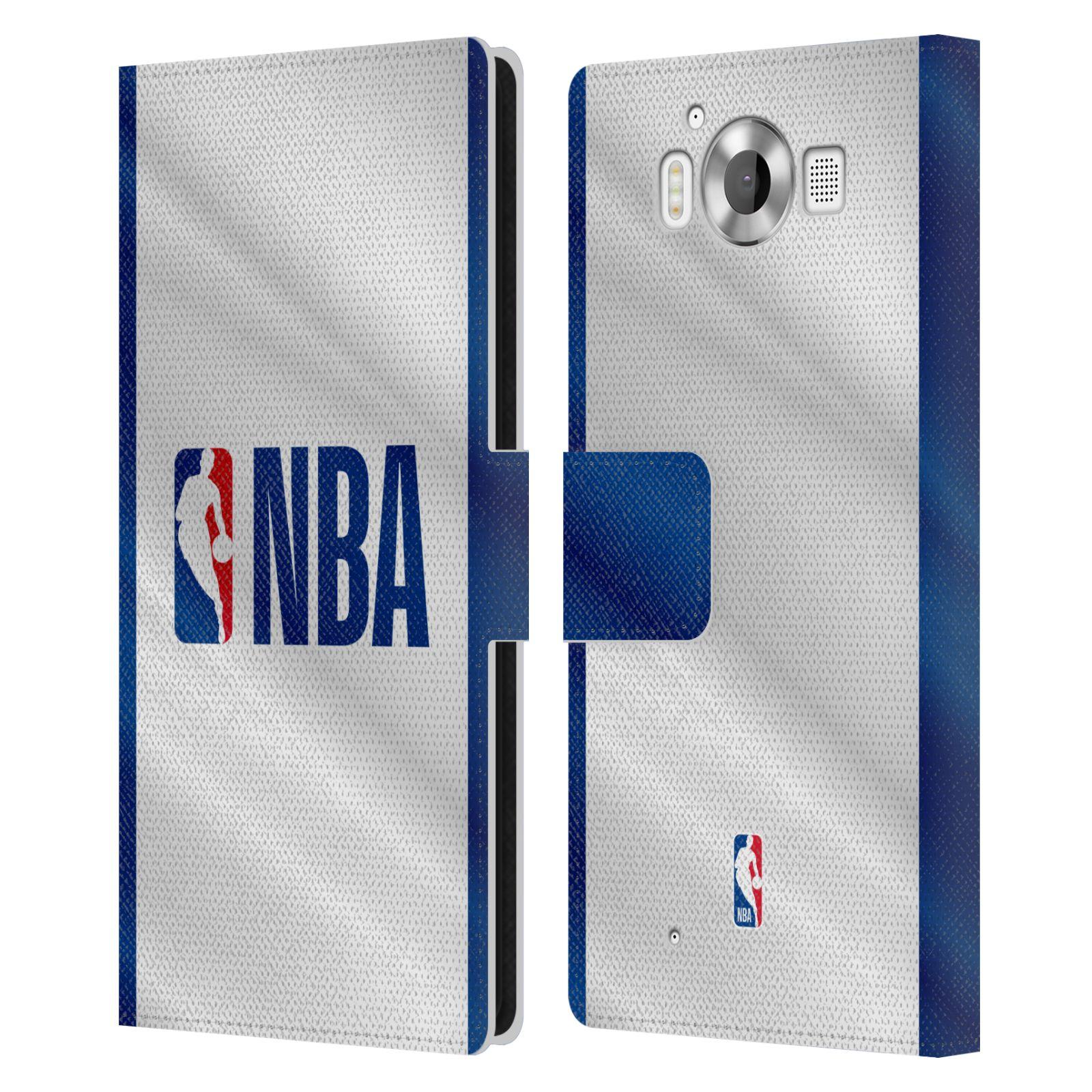 Pouzdro na mobil Nokia Lumia 950 - Head Case - NBA - Logo modré pruhy