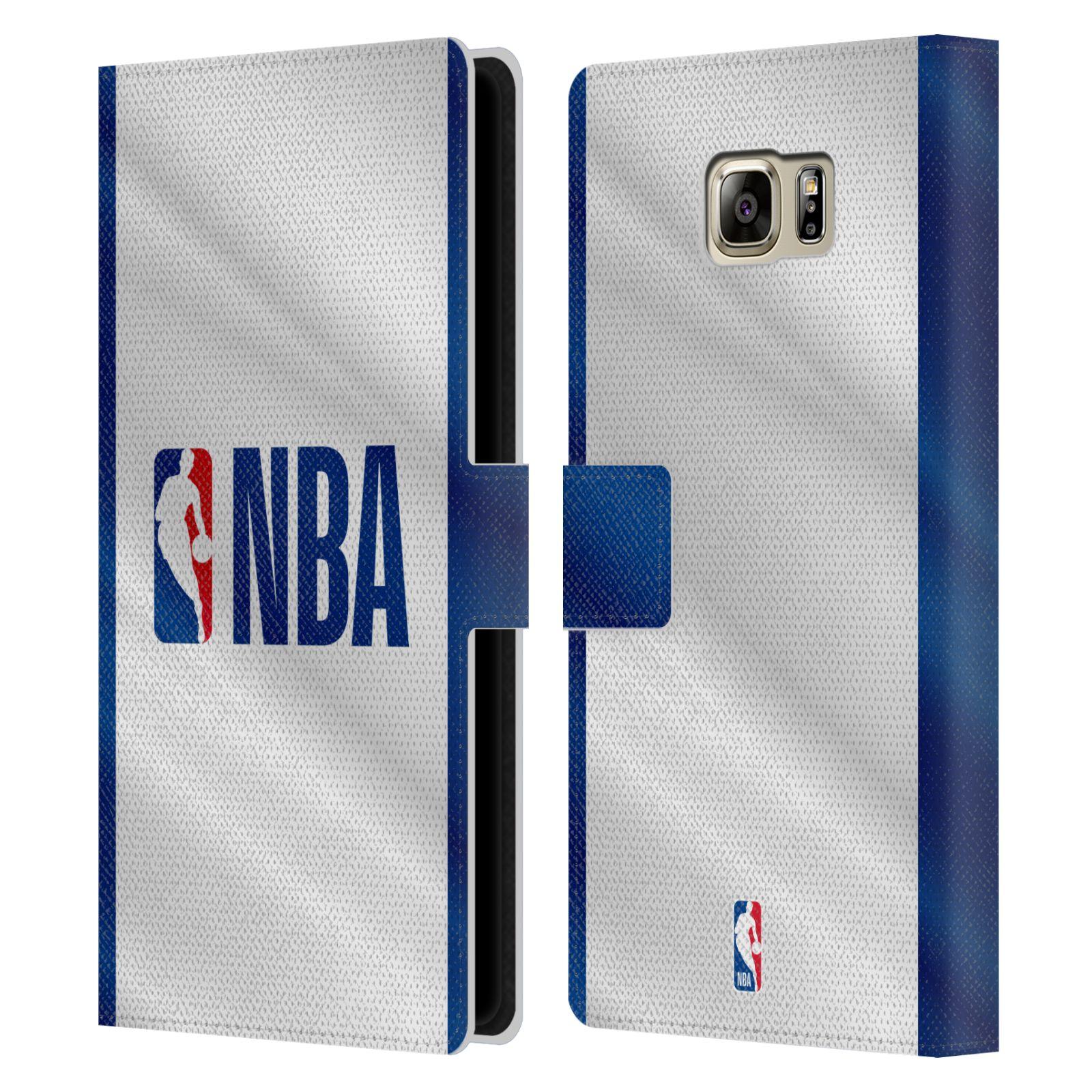 Pouzdro na mobil Samsung Galaxy NOTE 5 - Head Case - NBA - Logo modré pruhy