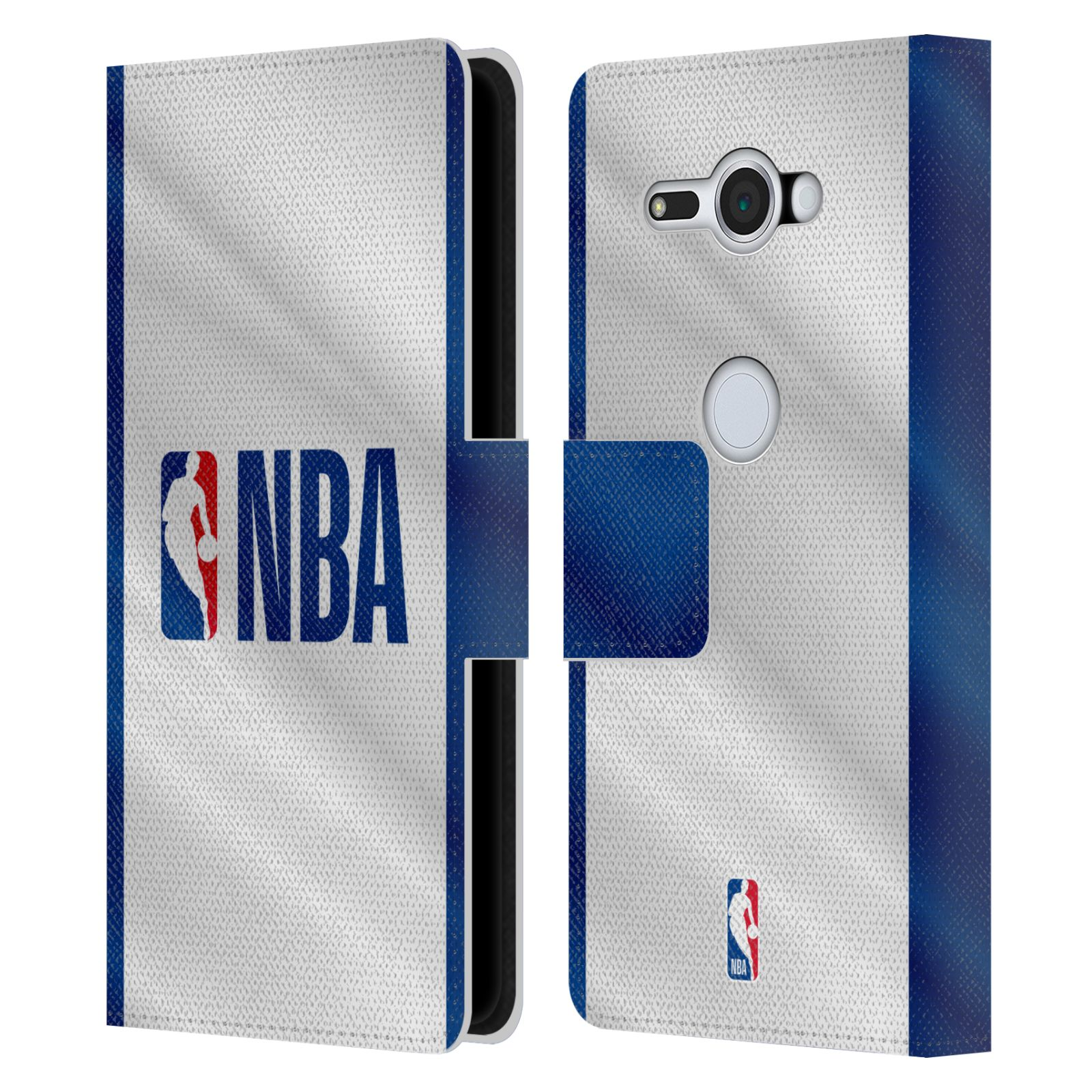 Pouzdro na mobil Sony Xperia XZ2 Compact - Head Case - NBA - Logo modré pruhy