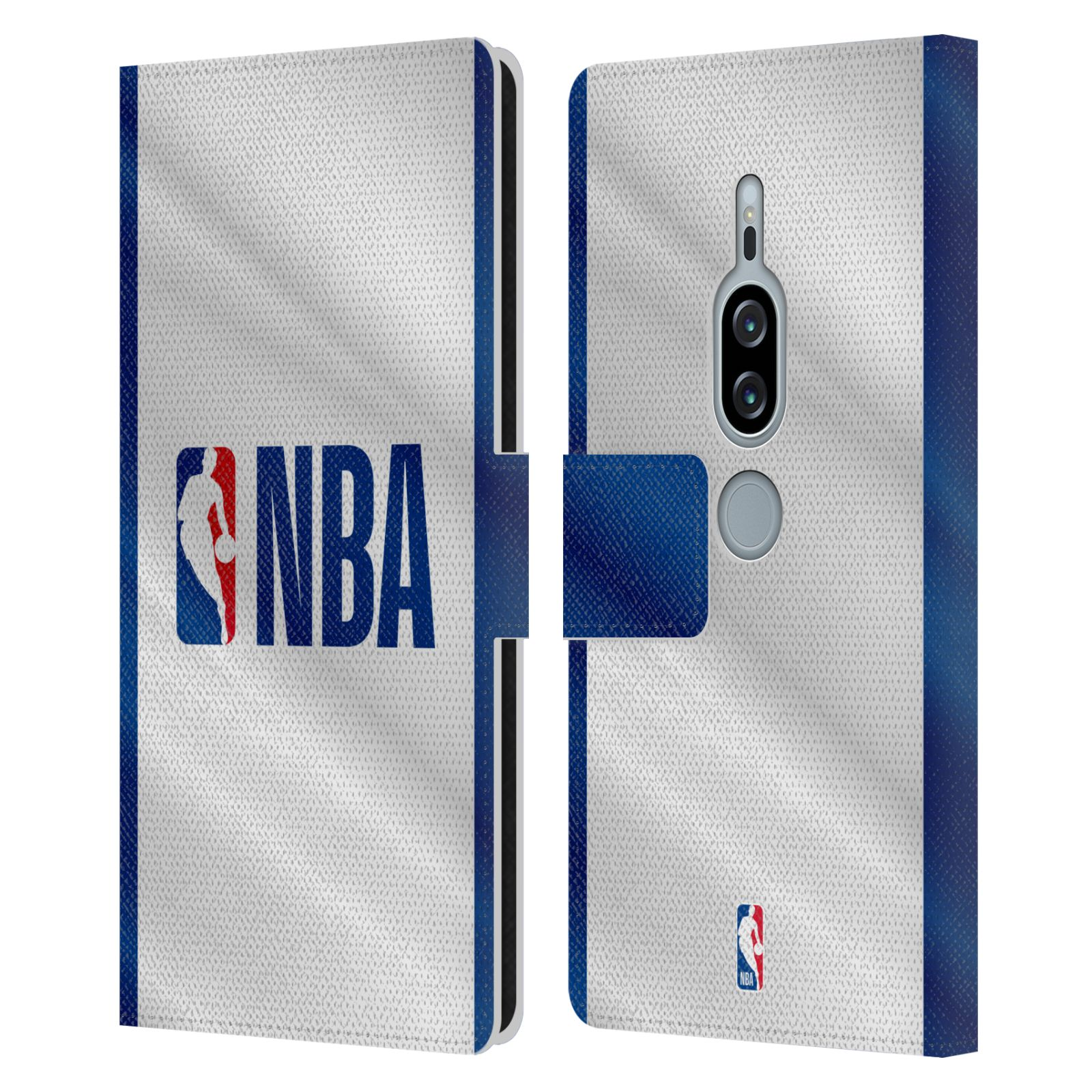 Pouzdro na mobil Sony Xperia XZ2 Premium - Head Case - NBA - Logo modré pruhy