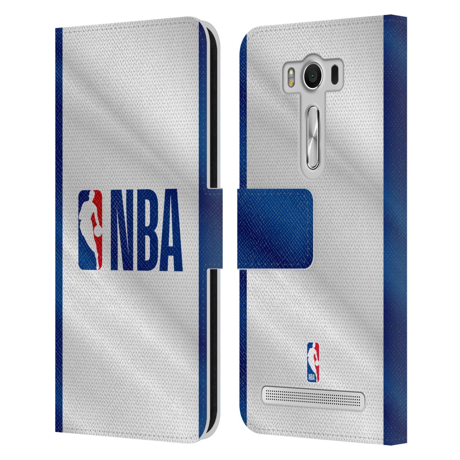 Pouzdro na mobil Asus Zenfone 2 Laser ZE500KL - Head Case - NBA - Logo modré pruhy