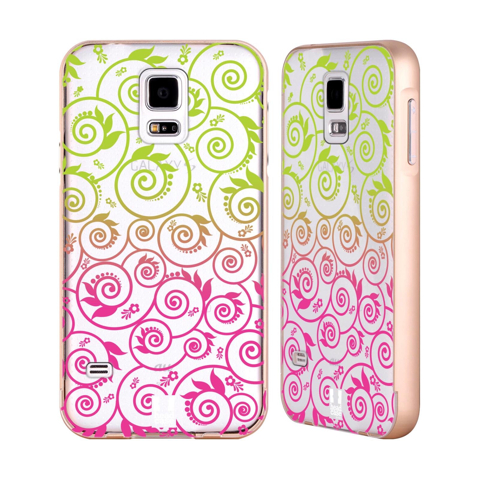 HEAD-CASE-DESIGNS-NEON-OMBRE-FILIGREE-GOLD-BUMPER-SLIDER-CASE-FOR-SAMSUNG-PHONES