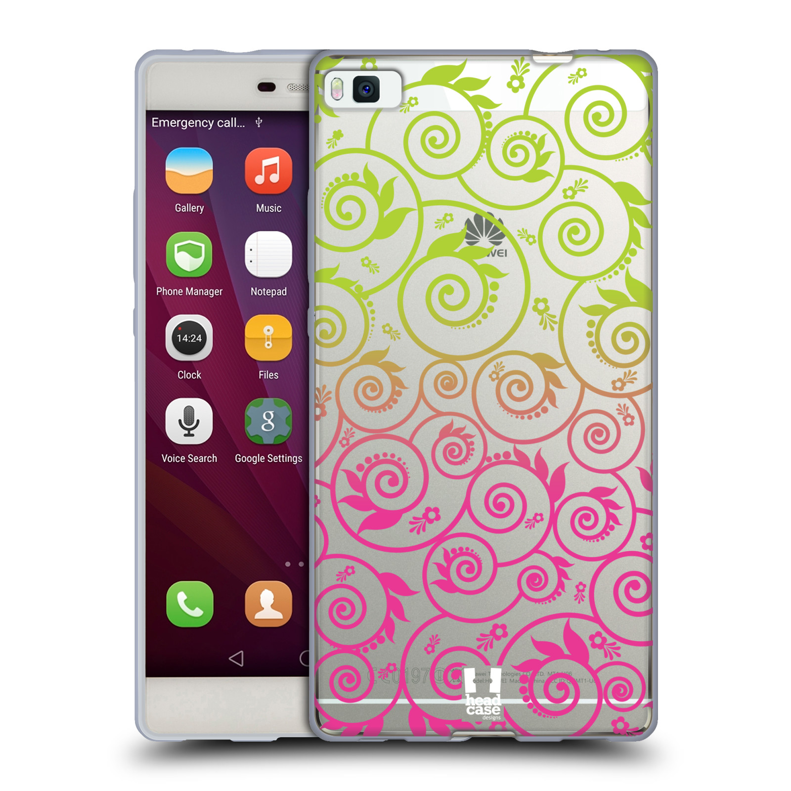 HEAD-CASE-DESIGNS-NEON-OMBRE-FILIGRAN-SOFT-GEL-HULLE-FUR-HUAWEI-HANDYS