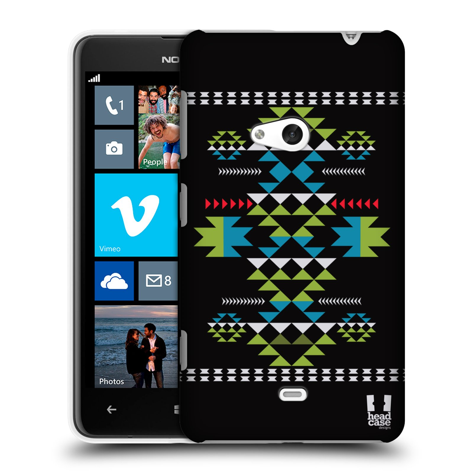 HEAD CASE NEO NAVAJO SNAP-ON BACK COVER FOR NOKIA LUMIA 625