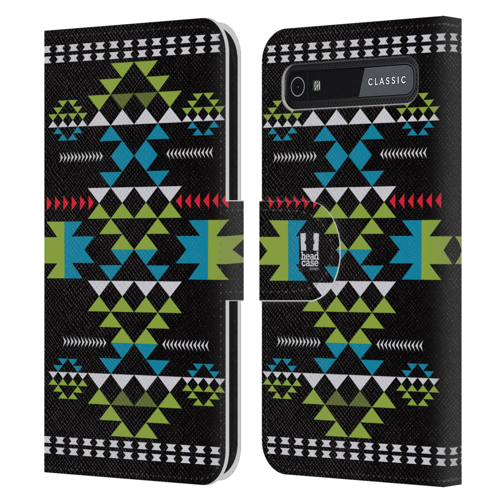 Book Cover Black Berry : Head case designs neo navajo leather book wallet for