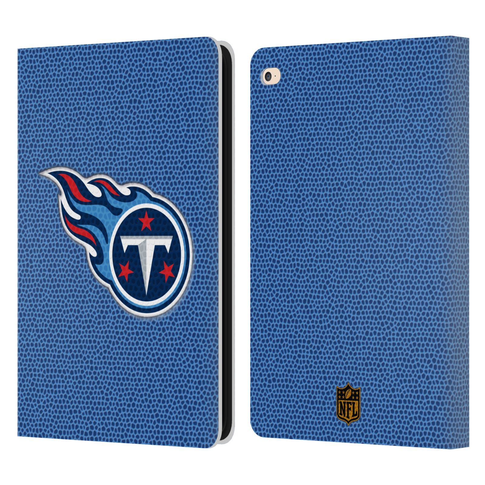 Best Ipad Book Cover : Official nfl tennessee titans logo leather book wallet