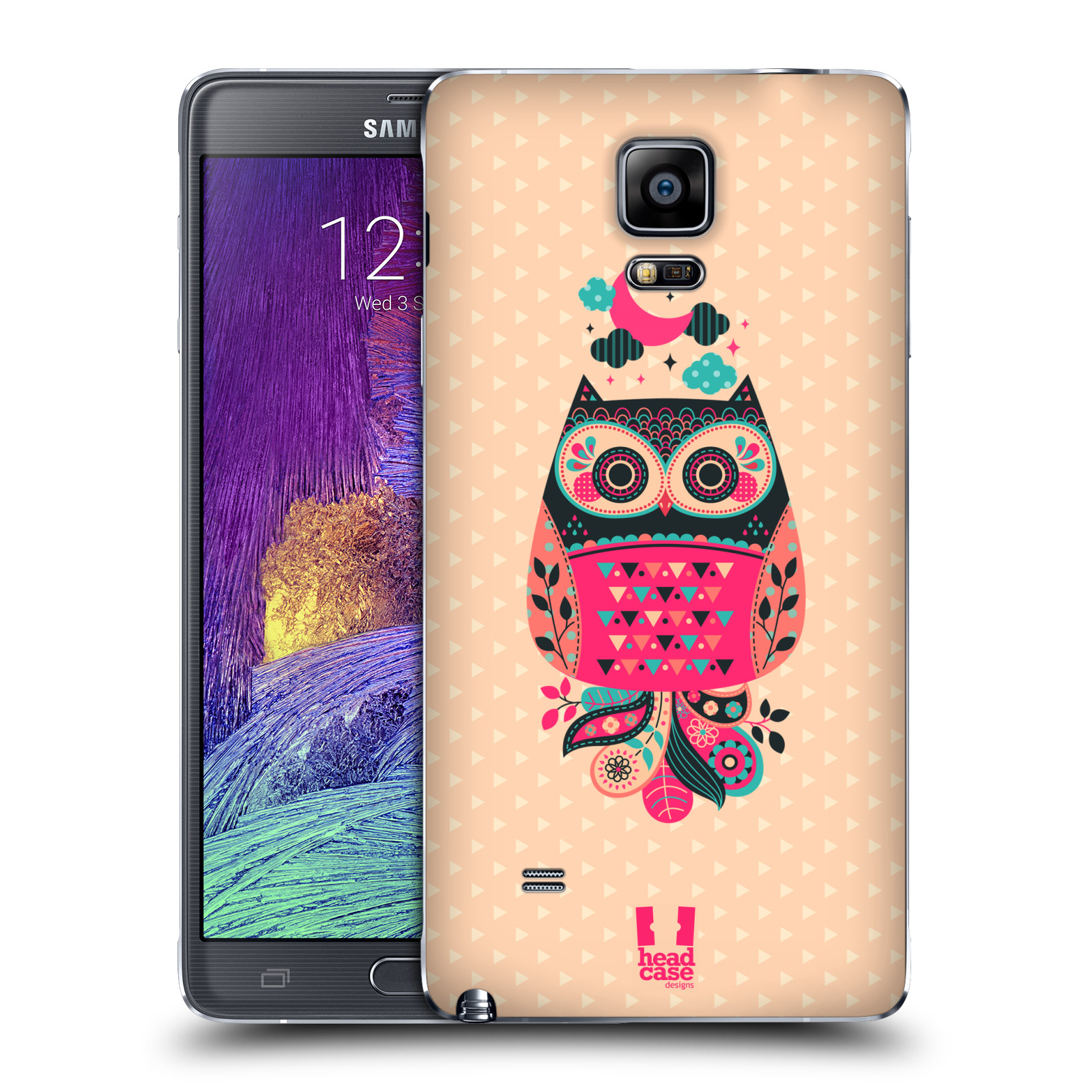 HEAD CASE DESIGNS NIGHTFALL OWLS REPLACEMENT BATTERY COVER FOR SAMSUNG PHONES 1