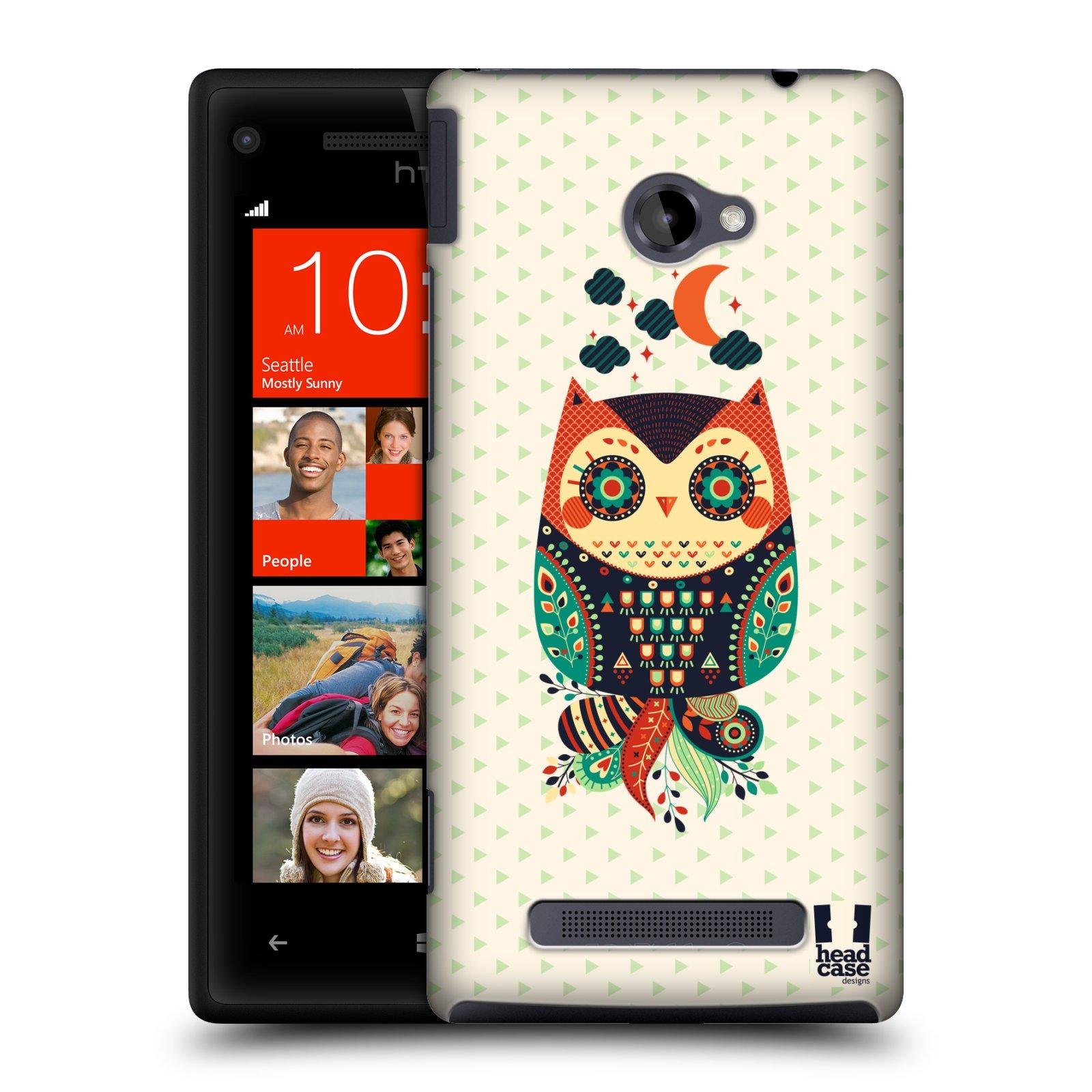 HEAD CASE DESIGNS NIGHTFALL OWLS CASE COVER FOR HTC WINDOWS PHONE 8X