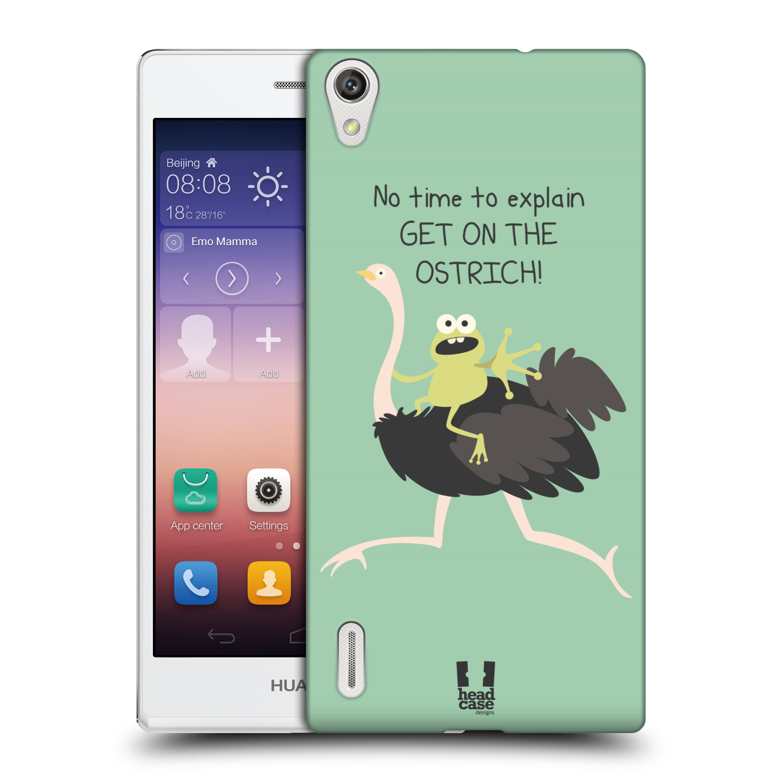 HEAD CASE DESIGNS DOSES OF NONSENSE CASE COVER FOR HUAWEI ASCEND P7 LTE