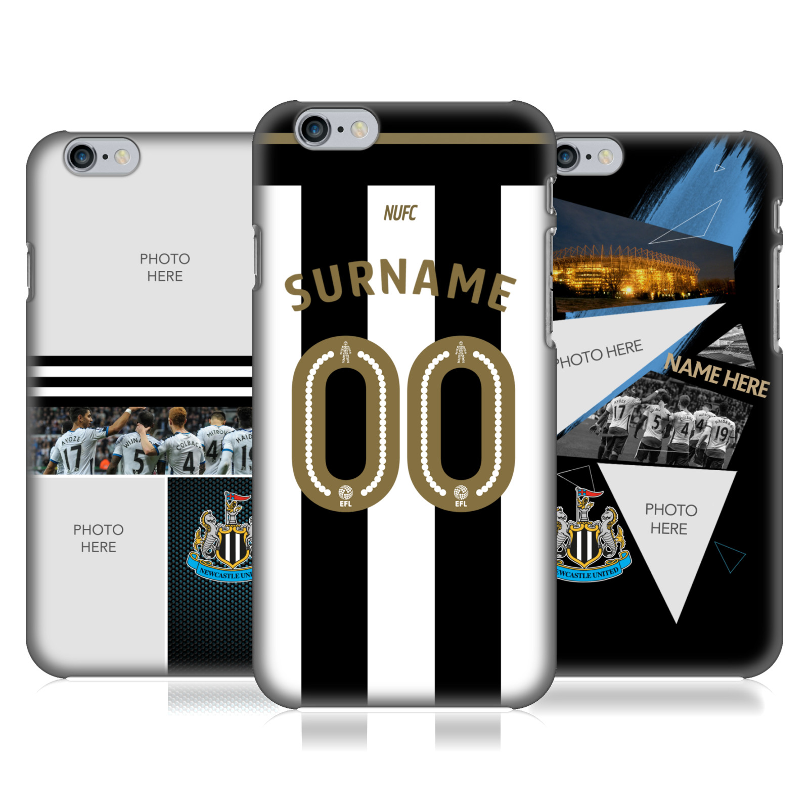 Newcastle United FC NUFC Personalised