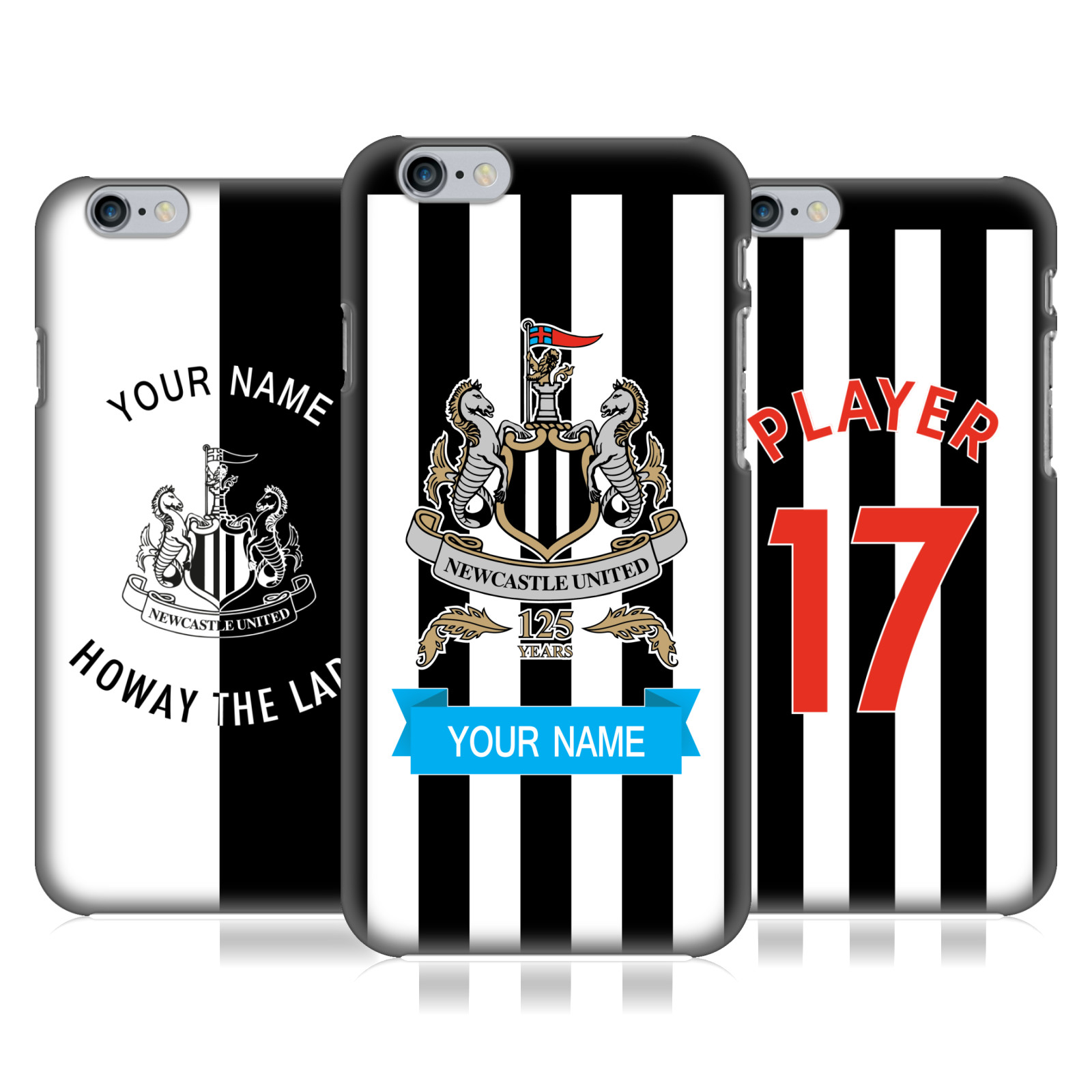 Newcastle United FC NUFC 2017/18 Personalized