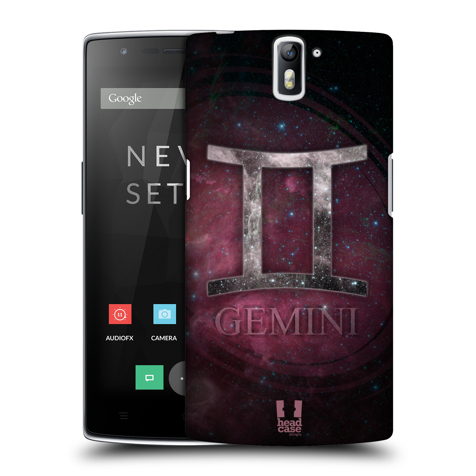 HEAD CASE DESIGNS NEBULA ZODIAC SYMBOLS HARD BACK CASE FOR ONEPLUS ONE