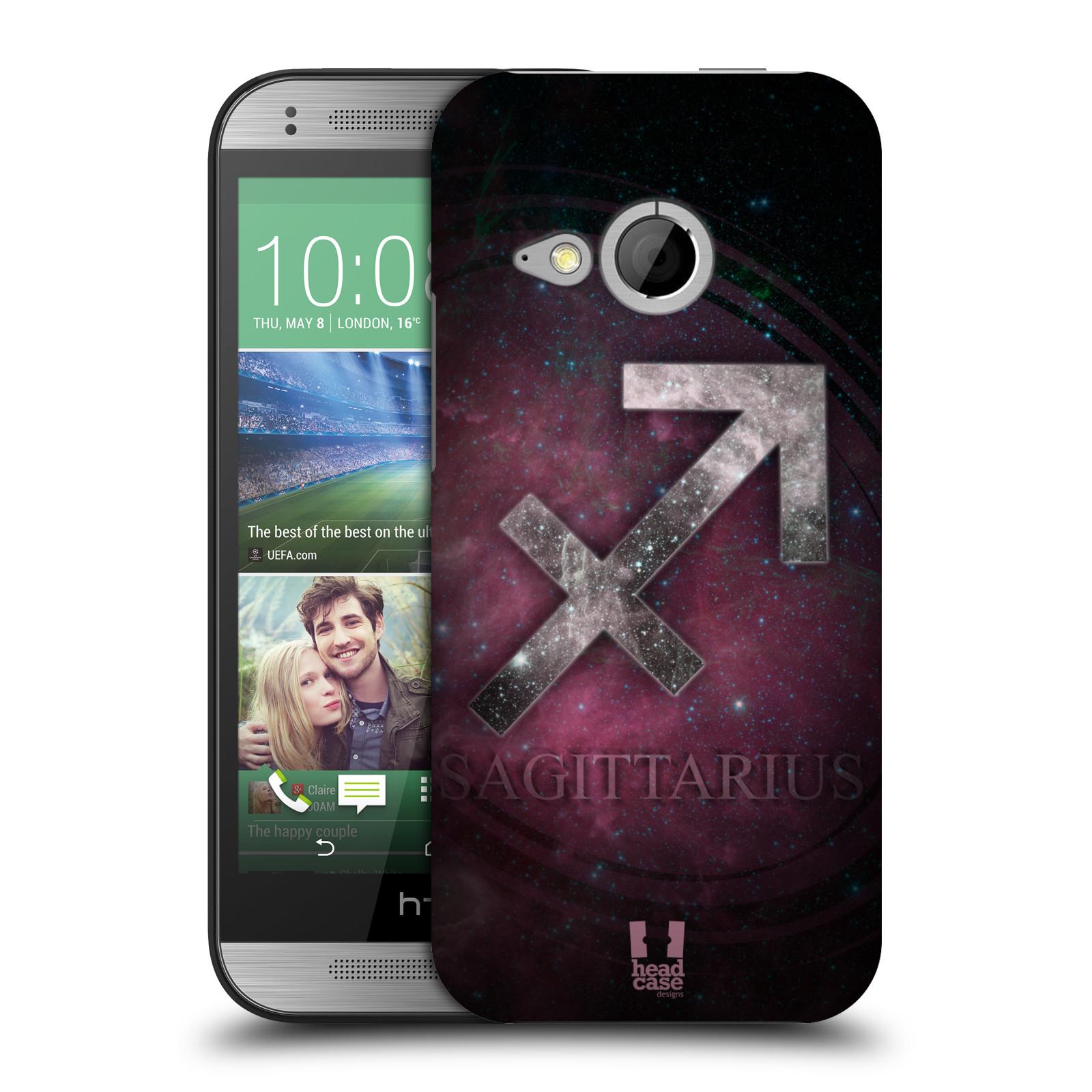 HEAD CASE DESIGNS NEBULA ZODIAC SYMBOLS HARD BACK CASE FOR HTC ONE MINI 2