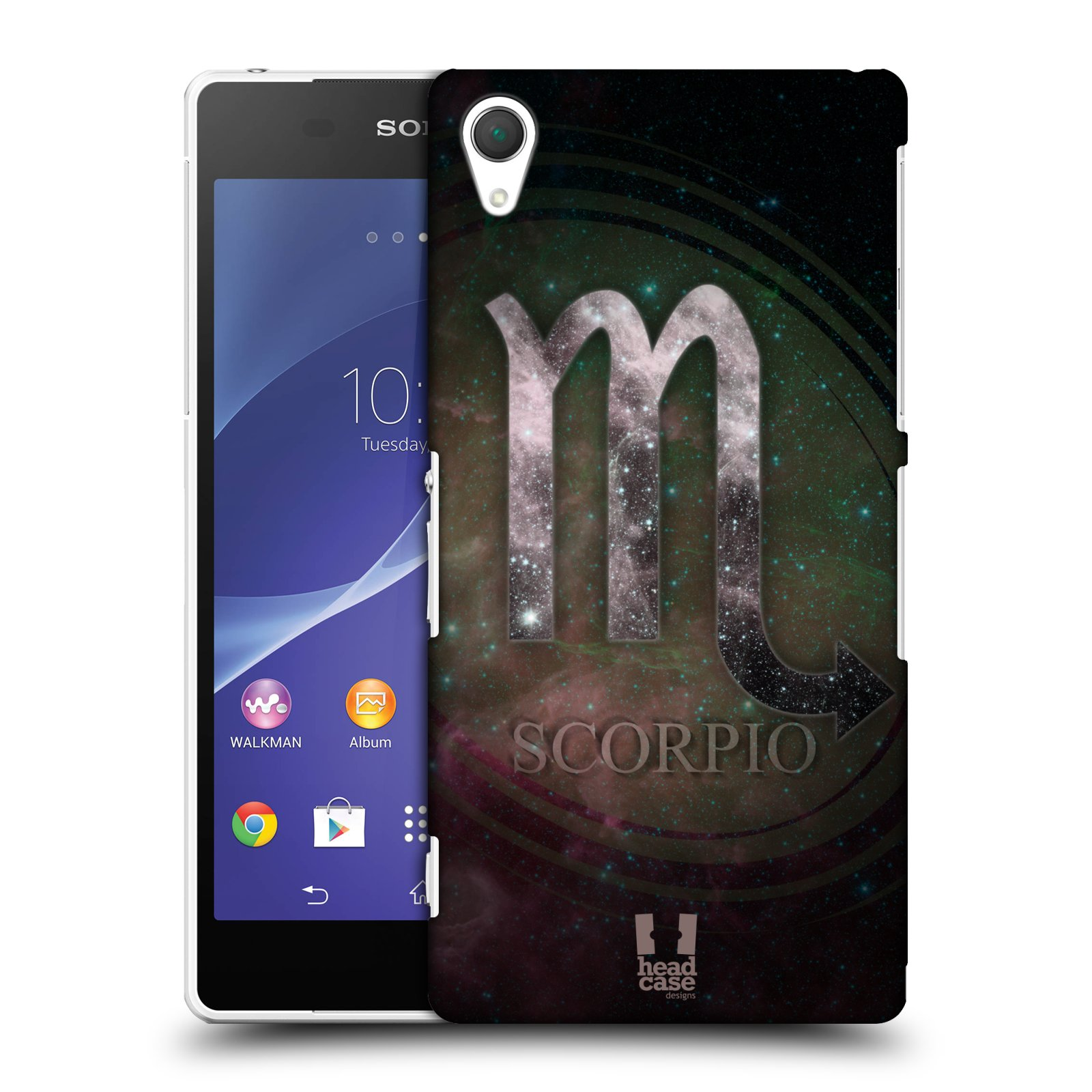 HEAD CASE DESIGNS NEBULA ZODIAC SYMBOLS CASE COVER FOR SONY XPERIA Z2 D6503
