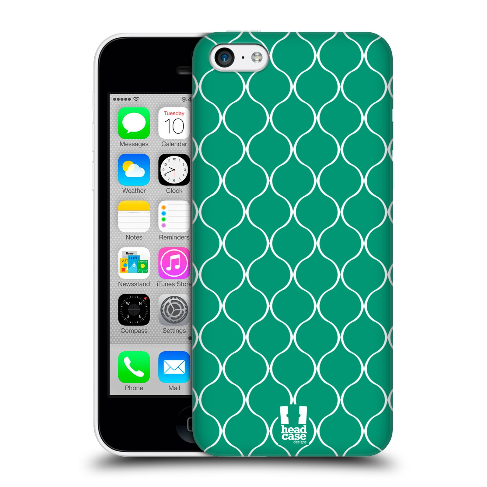 HEAD-CASE-DESIGNS-OGEE-PATTERN-PROTECTIVE-BACK-CASE-COVER-FOR-APPLE-iPHONE-5C