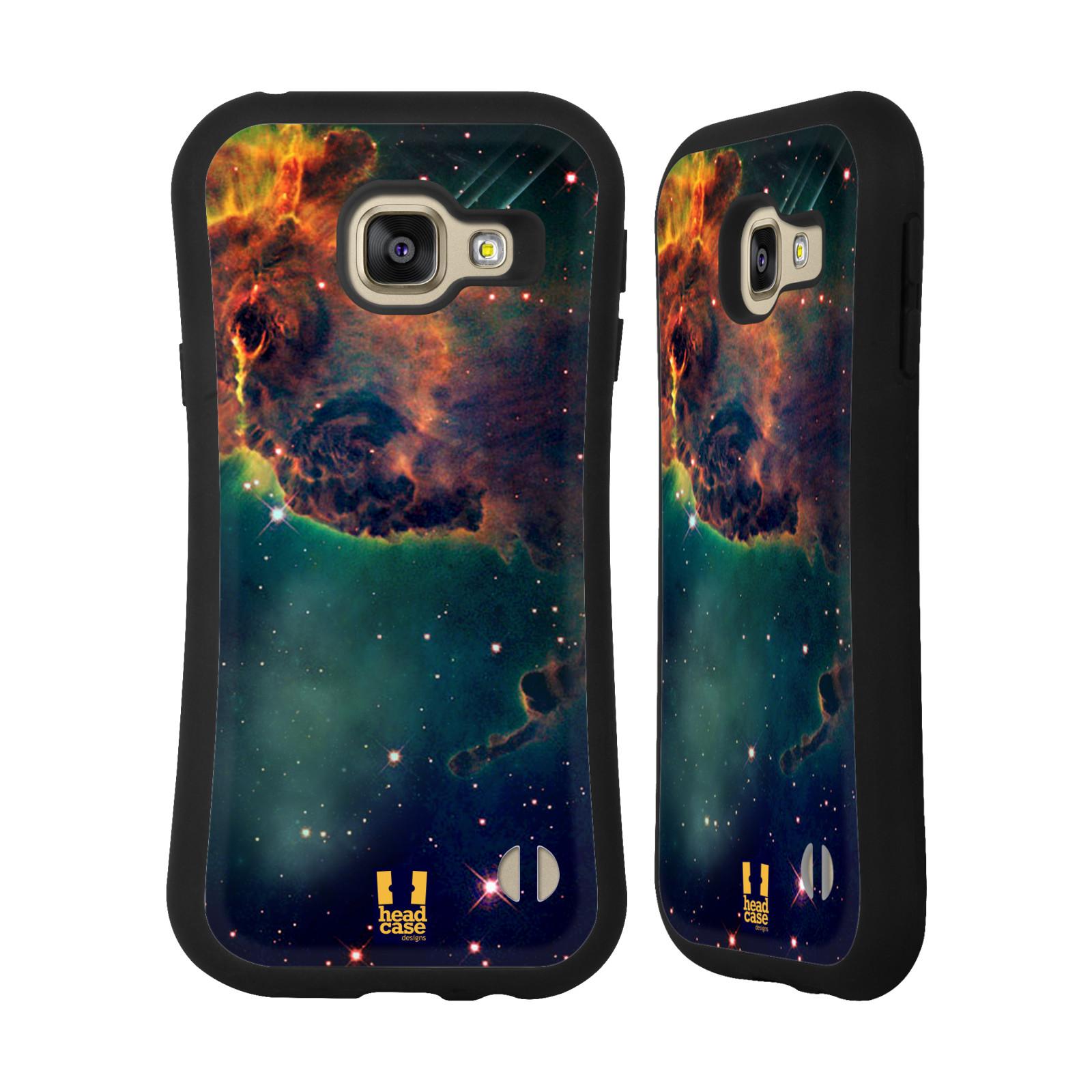 HEAD CASE silikon/plast odolný obal na mobil Samsung Galaxy A3 2016 vzor Vesmírná krása MLHOVINA