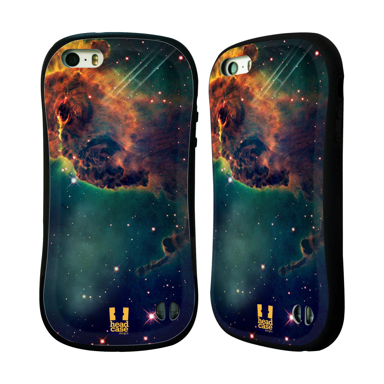 HEAD CASE silikon/plast odolný obal na mobil Apple Iphone 5/5S vzor Vesmírná krása MLHOVINA