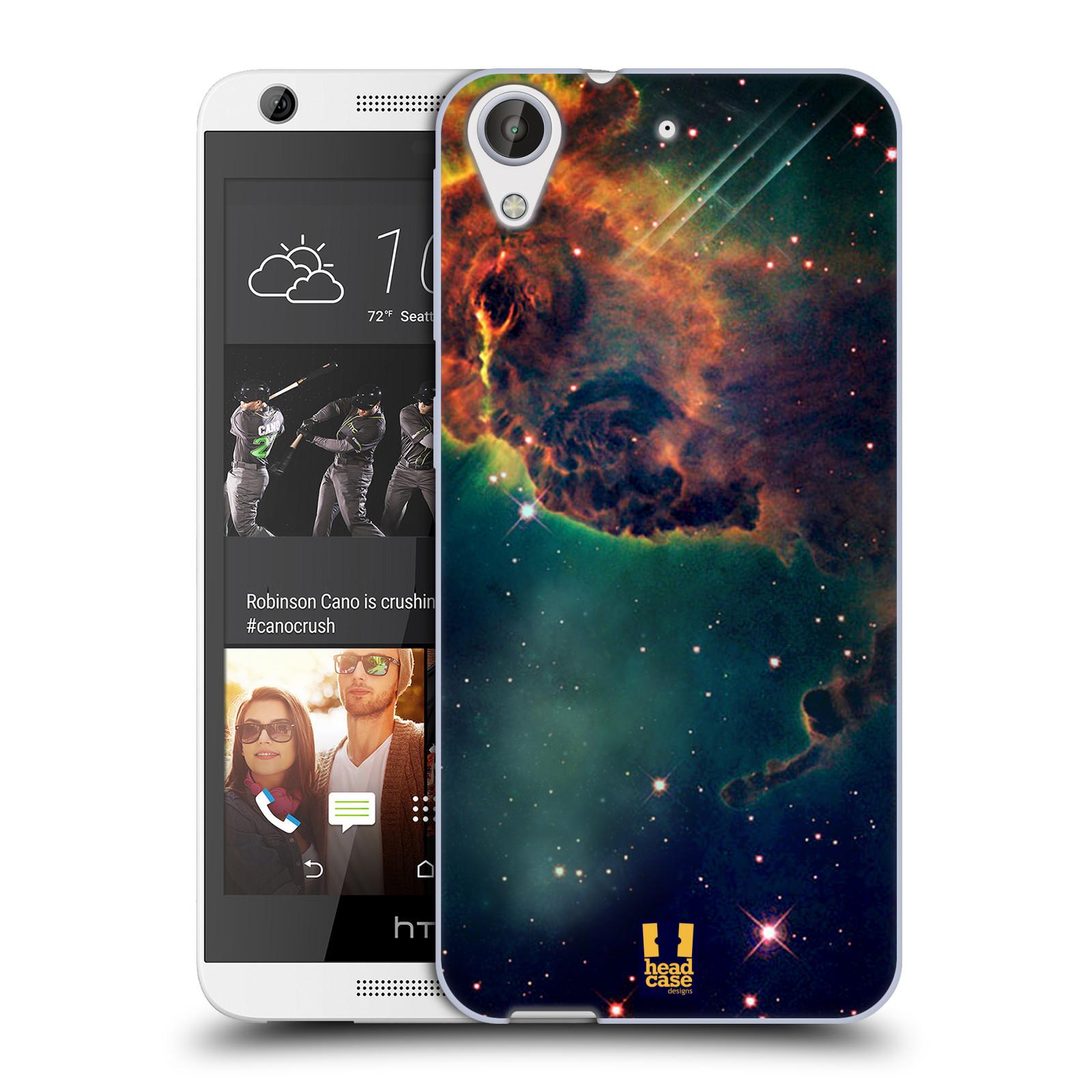HEAD CASE silikonový obal na mobil HTC Desire 626 / HTC Desire 626G vzor Vesmírná krása MLHOVINA