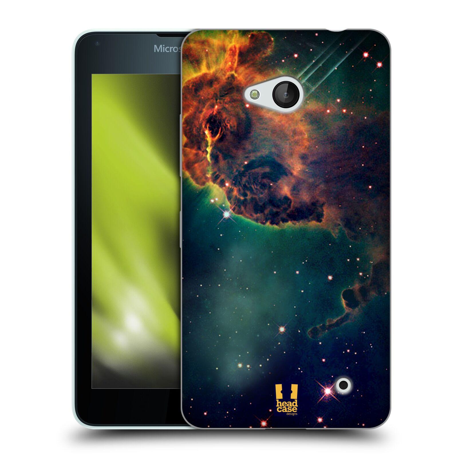 HEAD CASE silikonový obal na mobil Microsoft / Nokia Lumia 640 / Lumia 640 DUAL vzor Vesmírná krása MLHOVINA