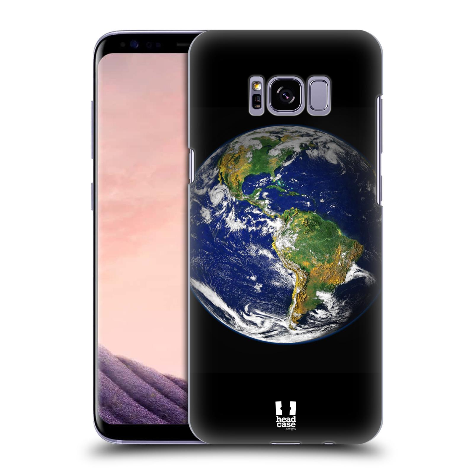 HEAD CASE plastový obal na mobil Samsung Galaxy S8+ (PLUS) vzor Vesmírná krása ZEMĚ