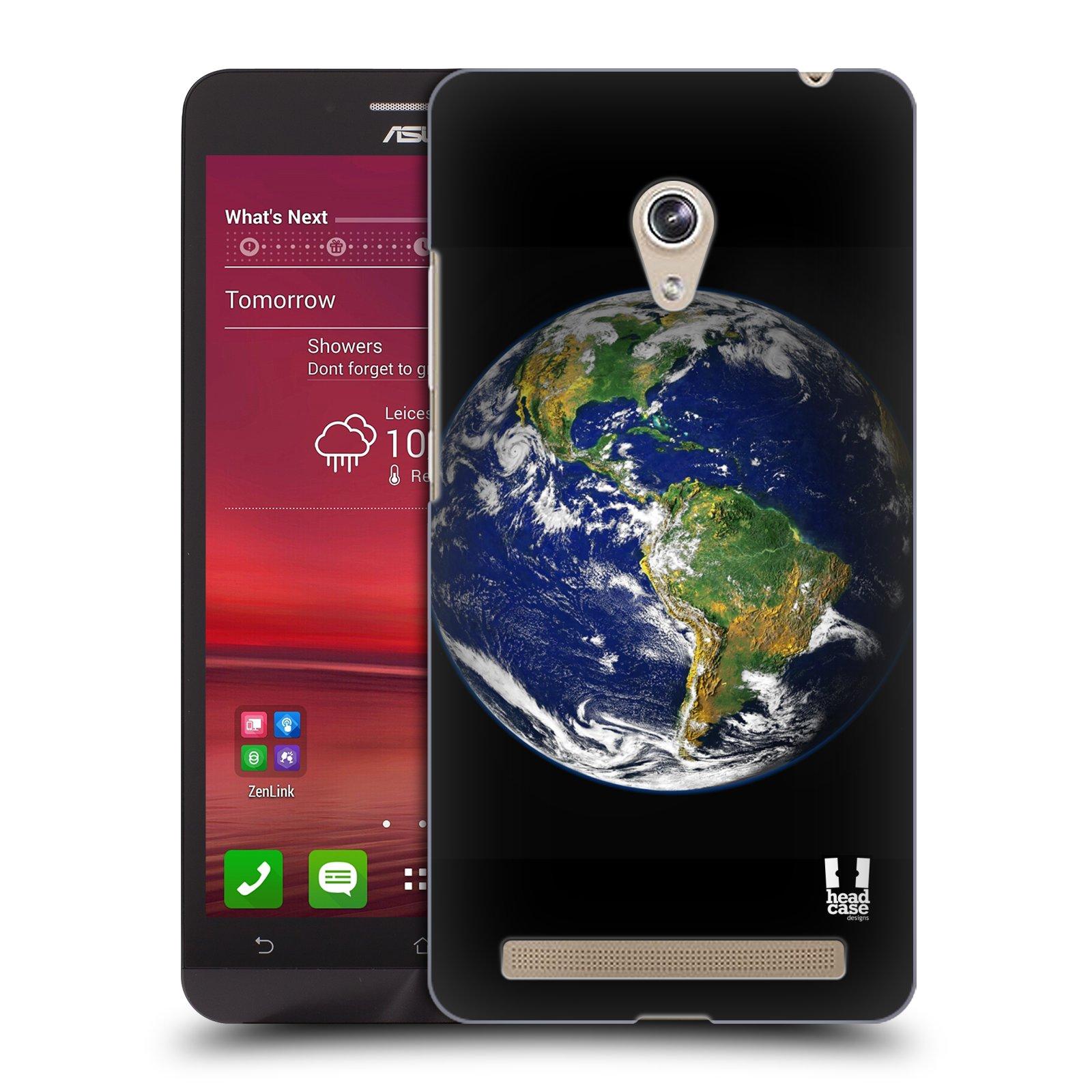 HEAD CASE plastový obal na mobil Asus Zenfone 6 vzor Vesmírná krása ZEMĚ