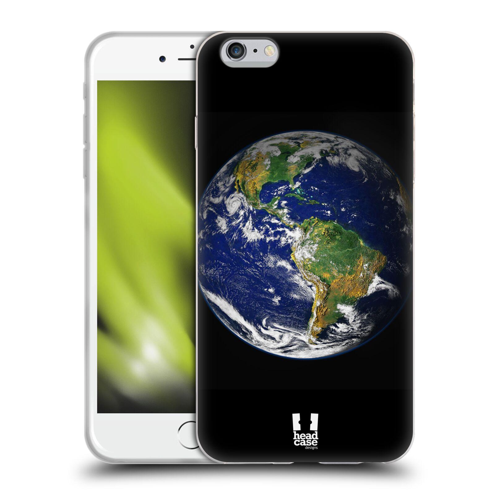 HEAD CASE silikonový obal na mobil Apple Iphone 6 PLUS/ 6S PLUS vzor Vesmírná krása ZEMĚ