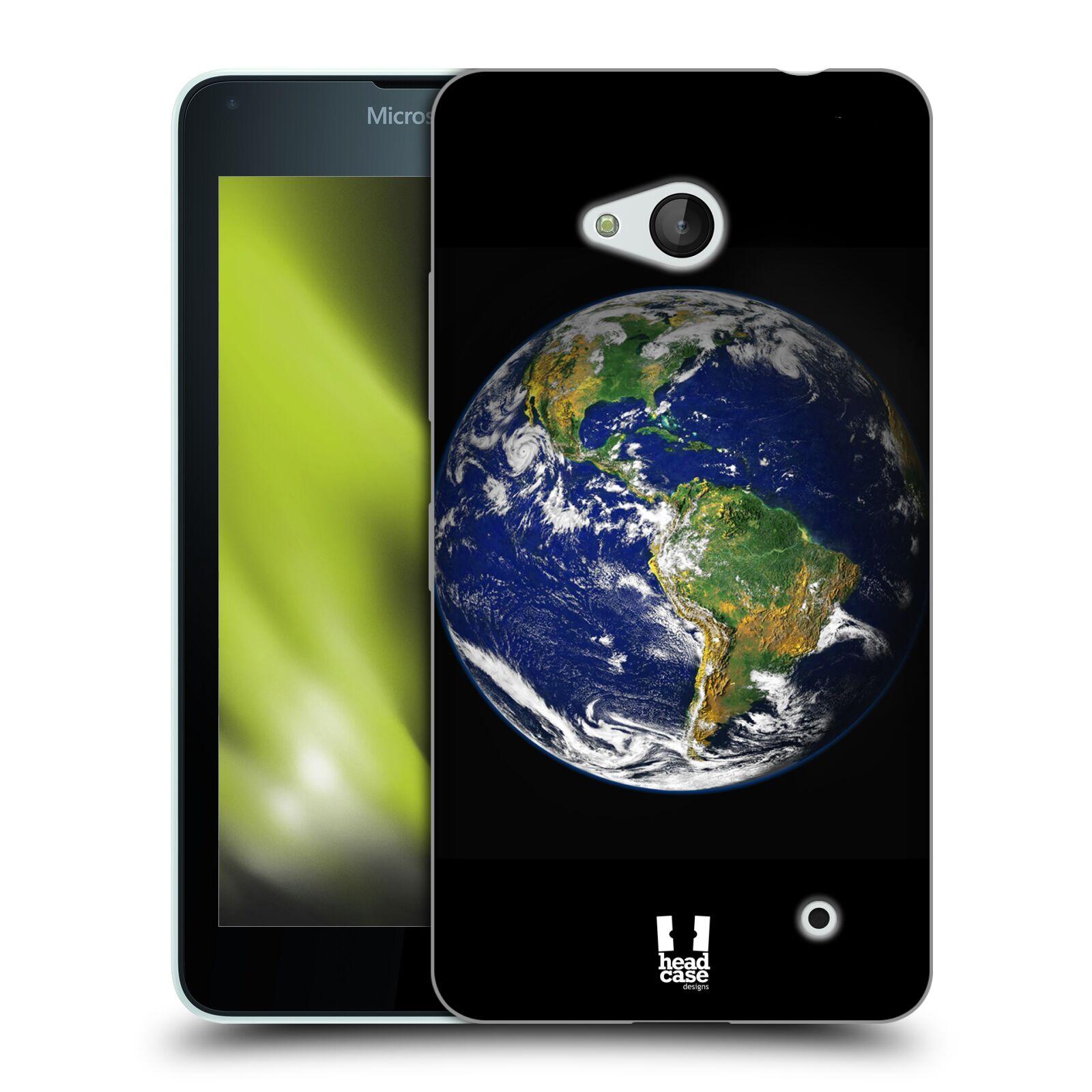 HEAD CASE silikonový obal na mobil Microsoft / Nokia Lumia 640 / Lumia 640 DUAL vzor Vesmírná krása ZEMĚ