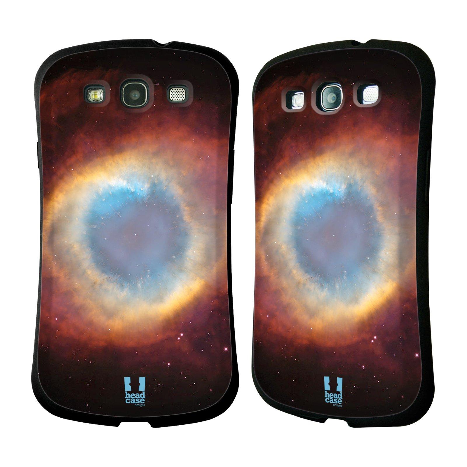 HEAD CASE silikon/plast odolný obal na mobil Samsung Galaxy S3 vzor Vesmírná krása PLYNOVÁ MLHOVINA