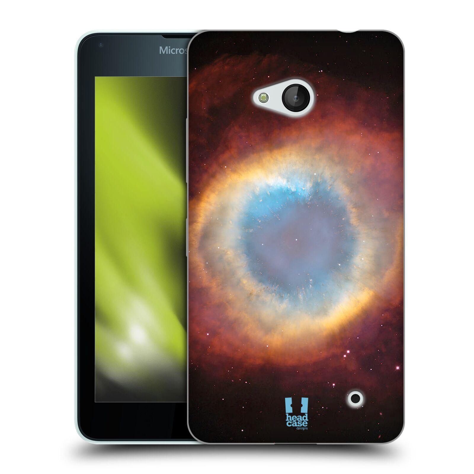 HEAD CASE silikonový obal na mobil Microsoft / Nokia Lumia 640 / Lumia 640 DUAL vzor Vesmírná krása PLYNOVÁ MLHOVINA