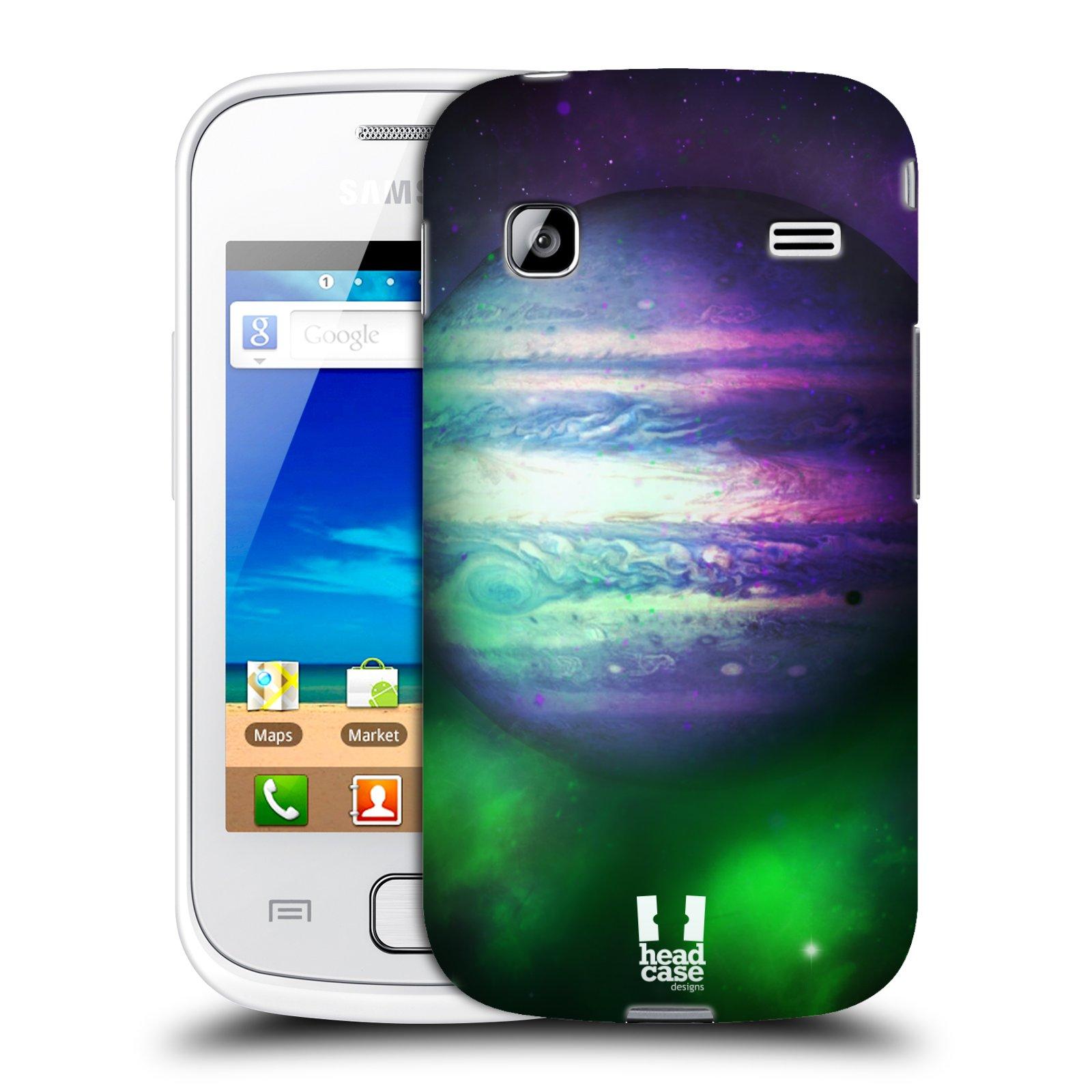 HEAD CASE plastový obal na mobil SAMSUNG GALAXY GIO (S5660) vzor Vesmírná krása JUPITER MODRÁ
