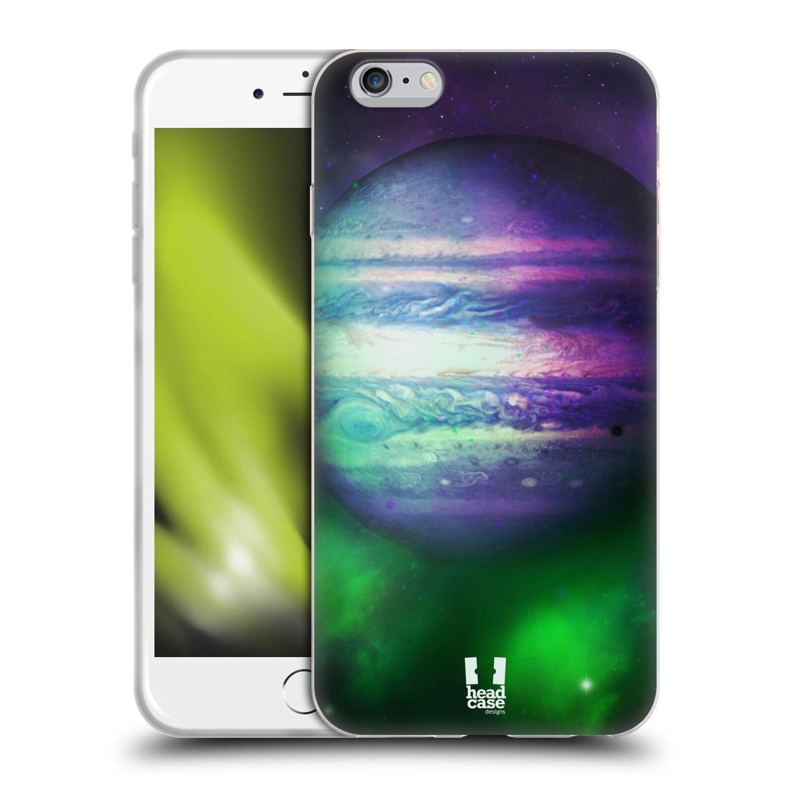 HEAD CASE silikonový obal na mobil Apple Iphone 6 PLUS/ 6S PLUS vzor Vesmírná krása JUPITER MODRÁ