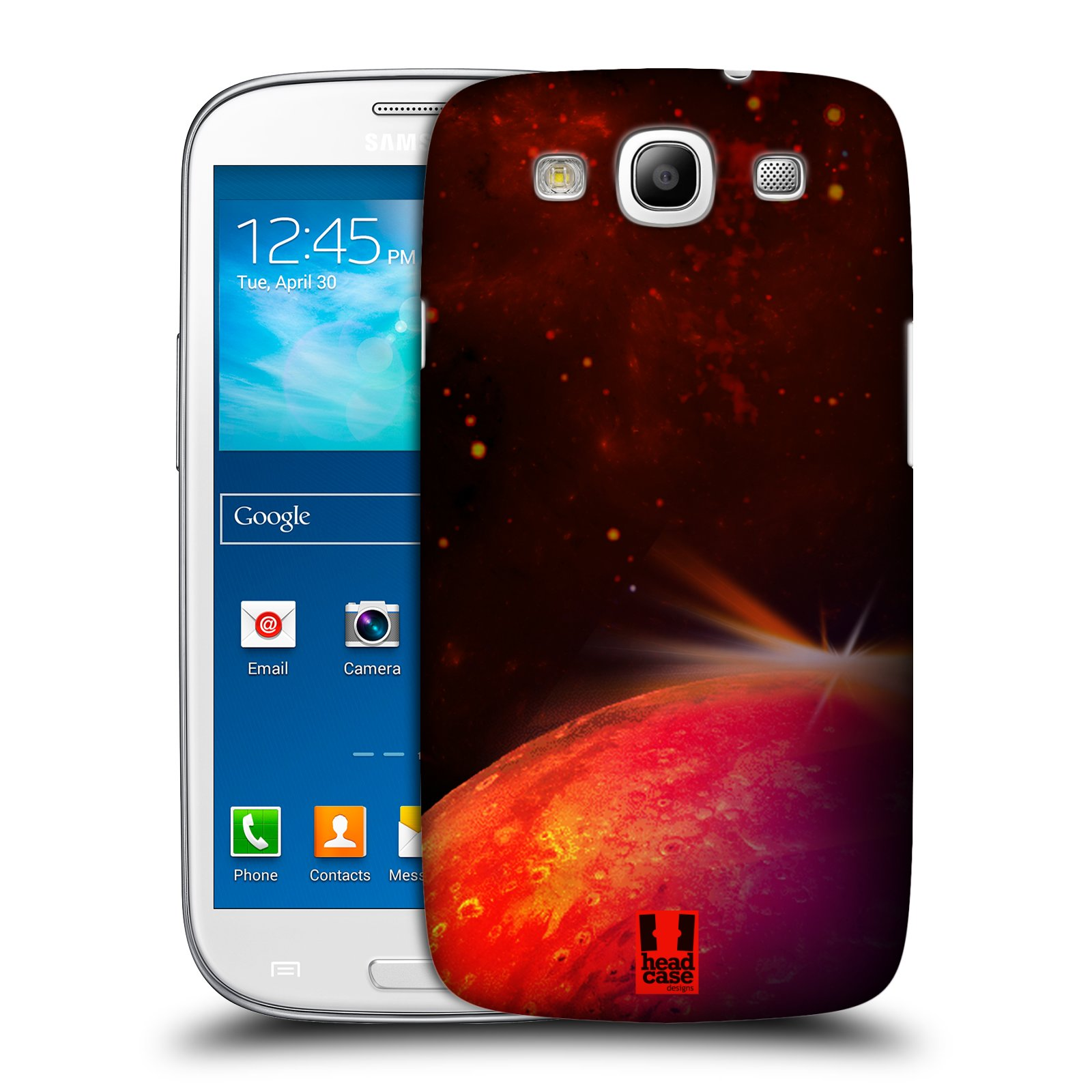 HEAD CASE DESIGNS SPACE WONDERS SET 1 CASE FOR SAMSUNG GALAXY S3 III I9300