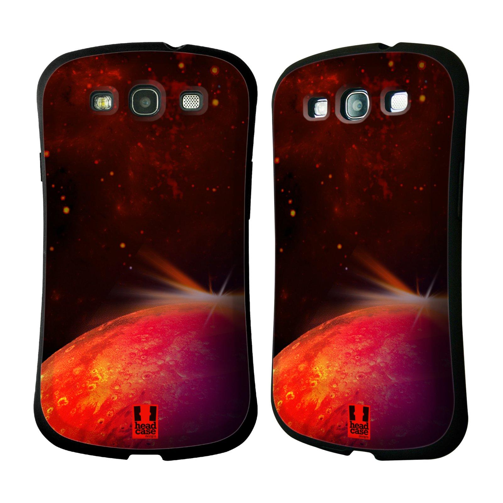 HEAD CASE silikon/plast odolný obal na mobil Samsung Galaxy S3 vzor Vesmírná krása MARS RUDÁ PLANETA
