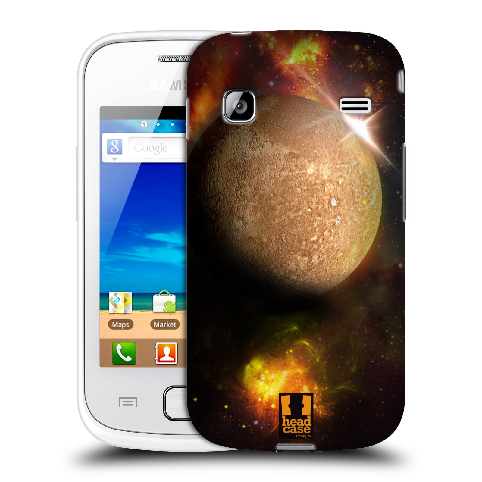 HEAD CASE plastový obal na mobil SAMSUNG GALAXY GIO (S5660) vzor Vesmírná krása MERKUR PLANETA