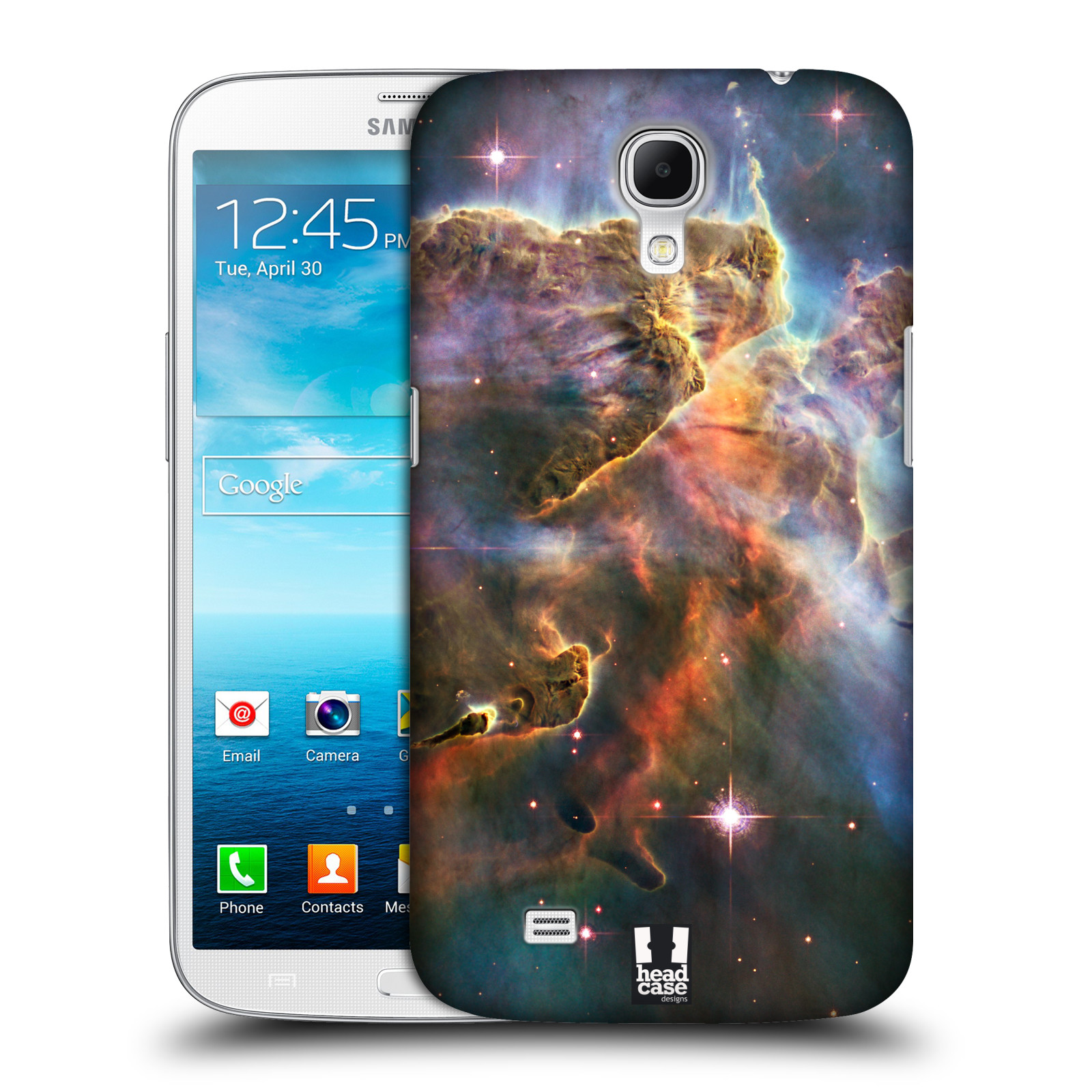 Head case designs outer space hard back case for samsung for Design for outer space