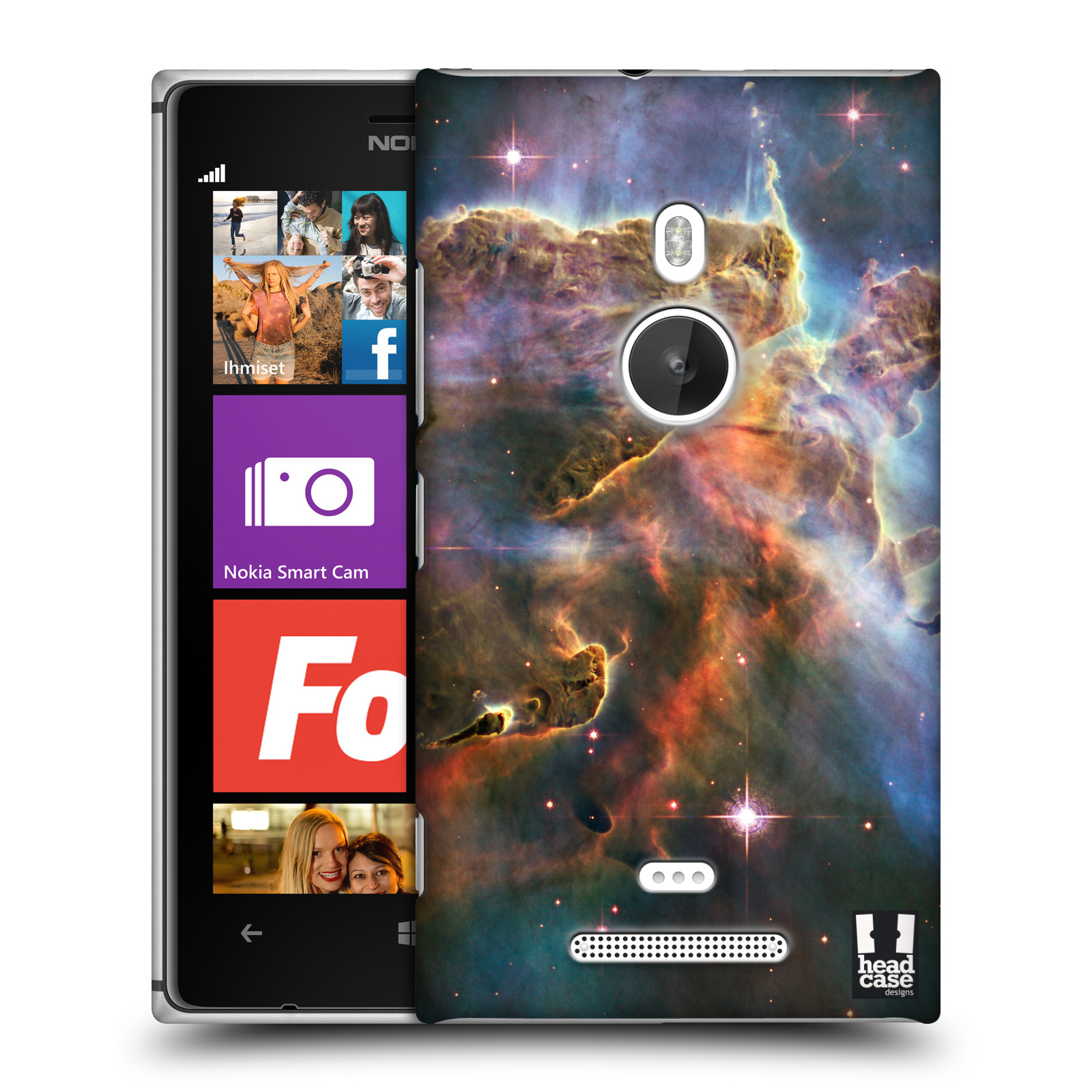 HEAD CASE DESIGNS OUTER SPACE HARD BACK CASE FOR NOKIA LUMIA 925