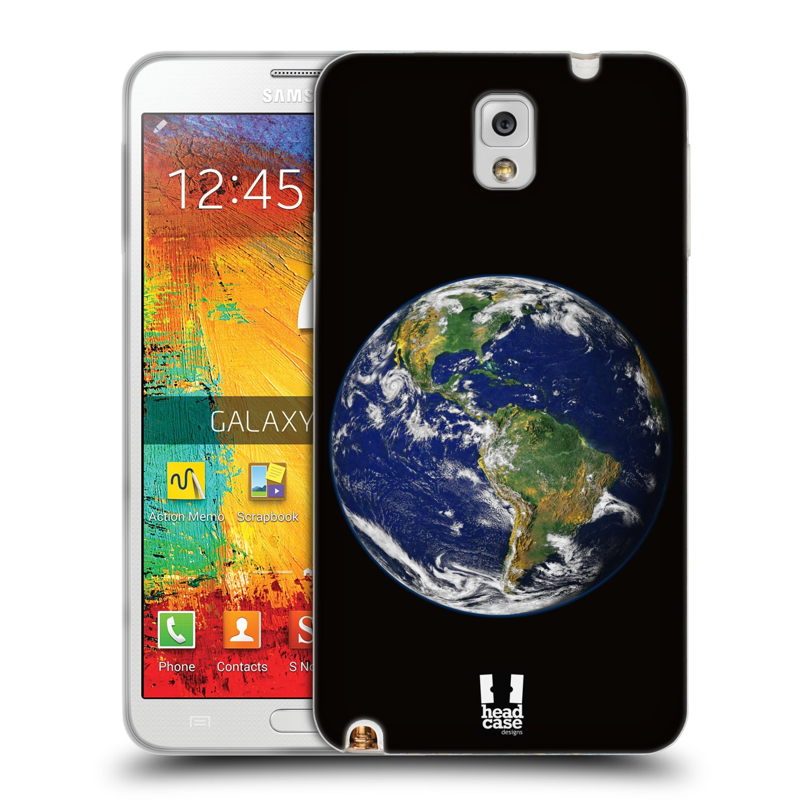 HEAD CASE OUTER SPACE TPU GEL BACK CASE COVER FOR SAMSUNG GALAXY NOTE 3 N9005