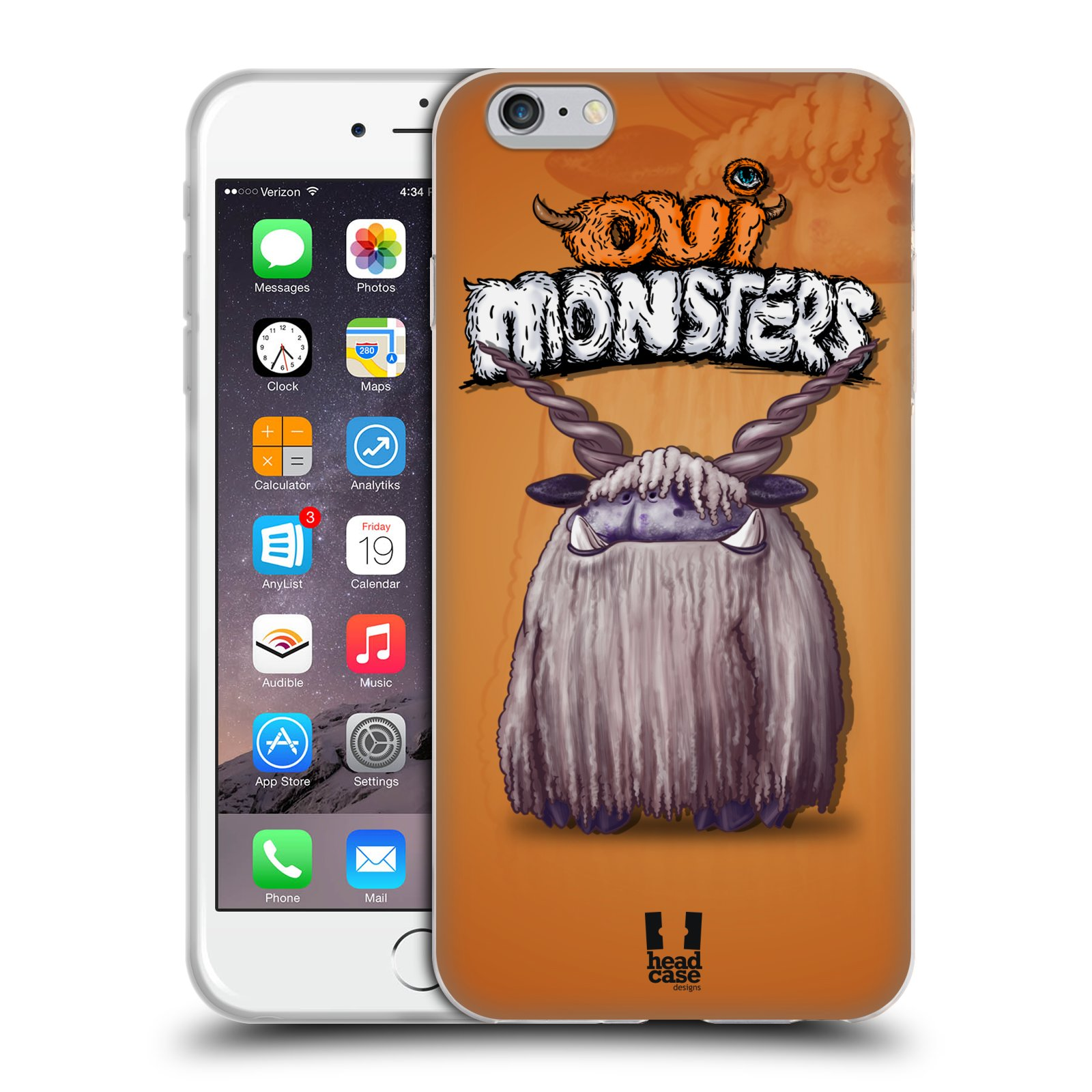 HEAD CASE silikonový obal na mobil Apple Iphone 6 PLUS/ 6S PLUS vzor Velké lesní příšerky Alpaka