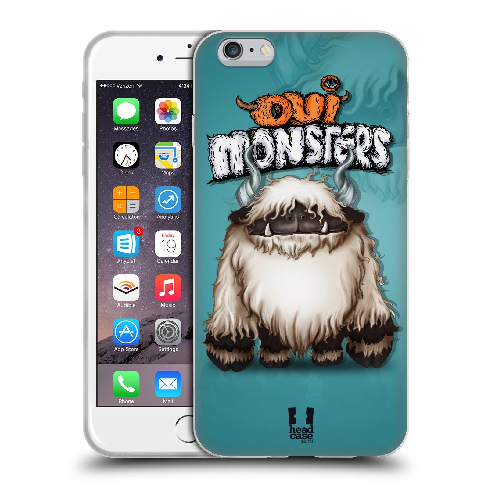 HEAD CASE silikonový obal na mobil Apple Iphone 6 PLUS/ 6S PLUS vzor Velké lesní příšerky Blacknose