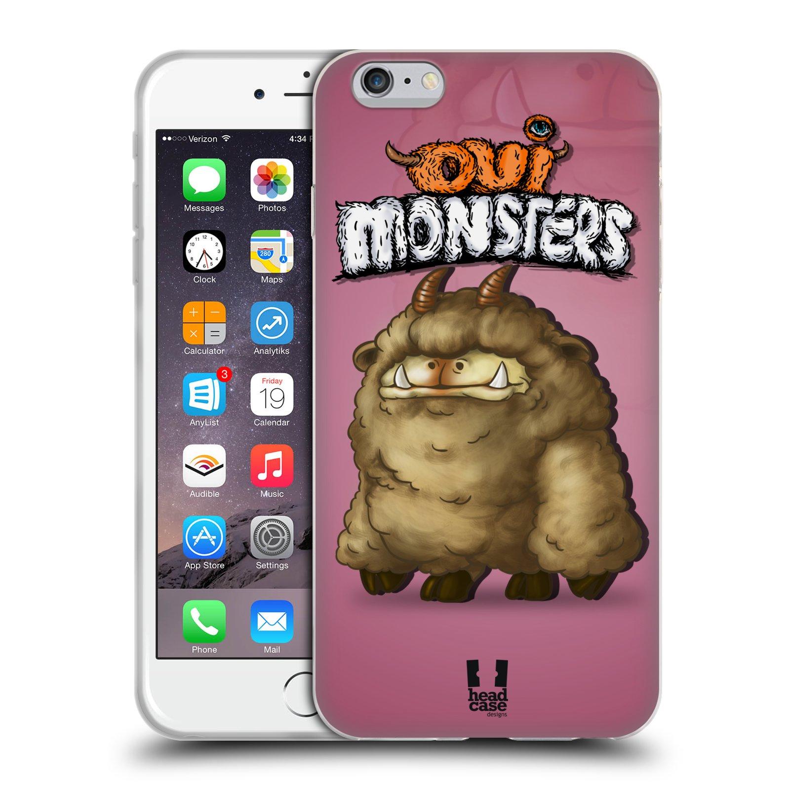 HEAD CASE silikonový obal na mobil Apple Iphone 6 PLUS/ 6S PLUS vzor Velké lesní příšerky Corriedale