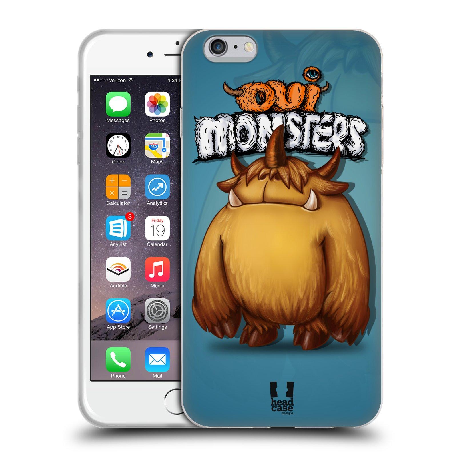 HEAD CASE silikonový obal na mobil Apple Iphone 6 PLUS/ 6S PLUS vzor Velké lesní příšerky DEVON