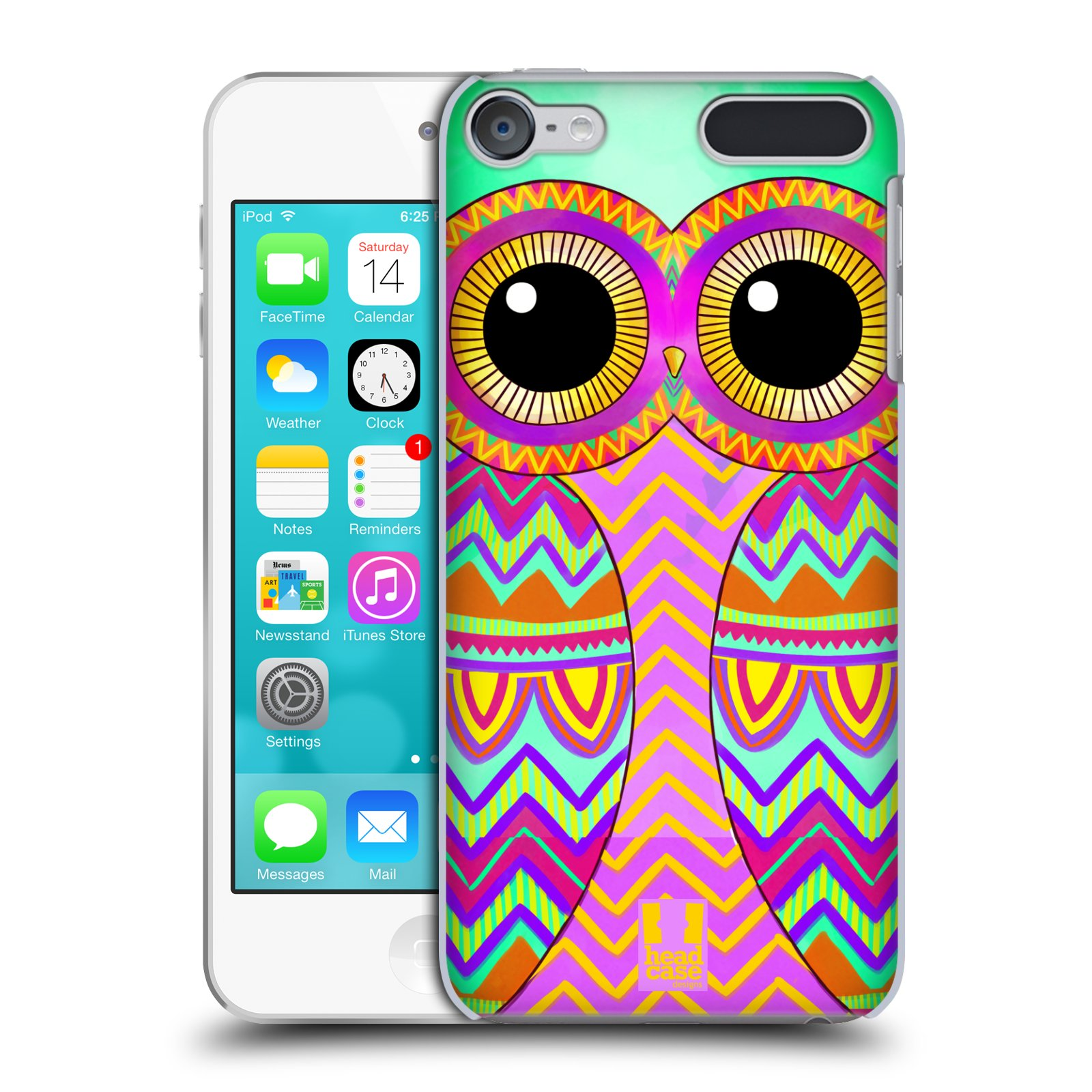 Head case designs owls illustrated hard back case for apple ipod touch mp3 ebay - Caisse apple ...