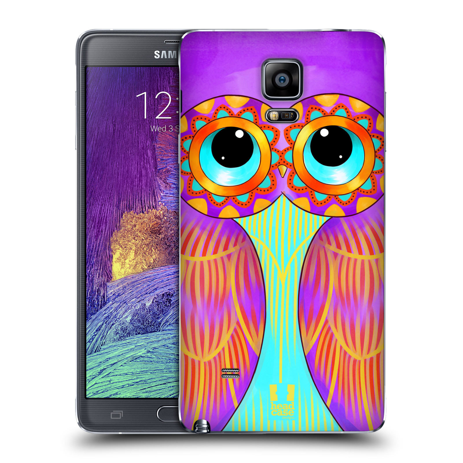 HEAD CASE DESIGNS OWLS ILLUSTRATED BATTERY COVER FOR SAMSUNG PHONES 1