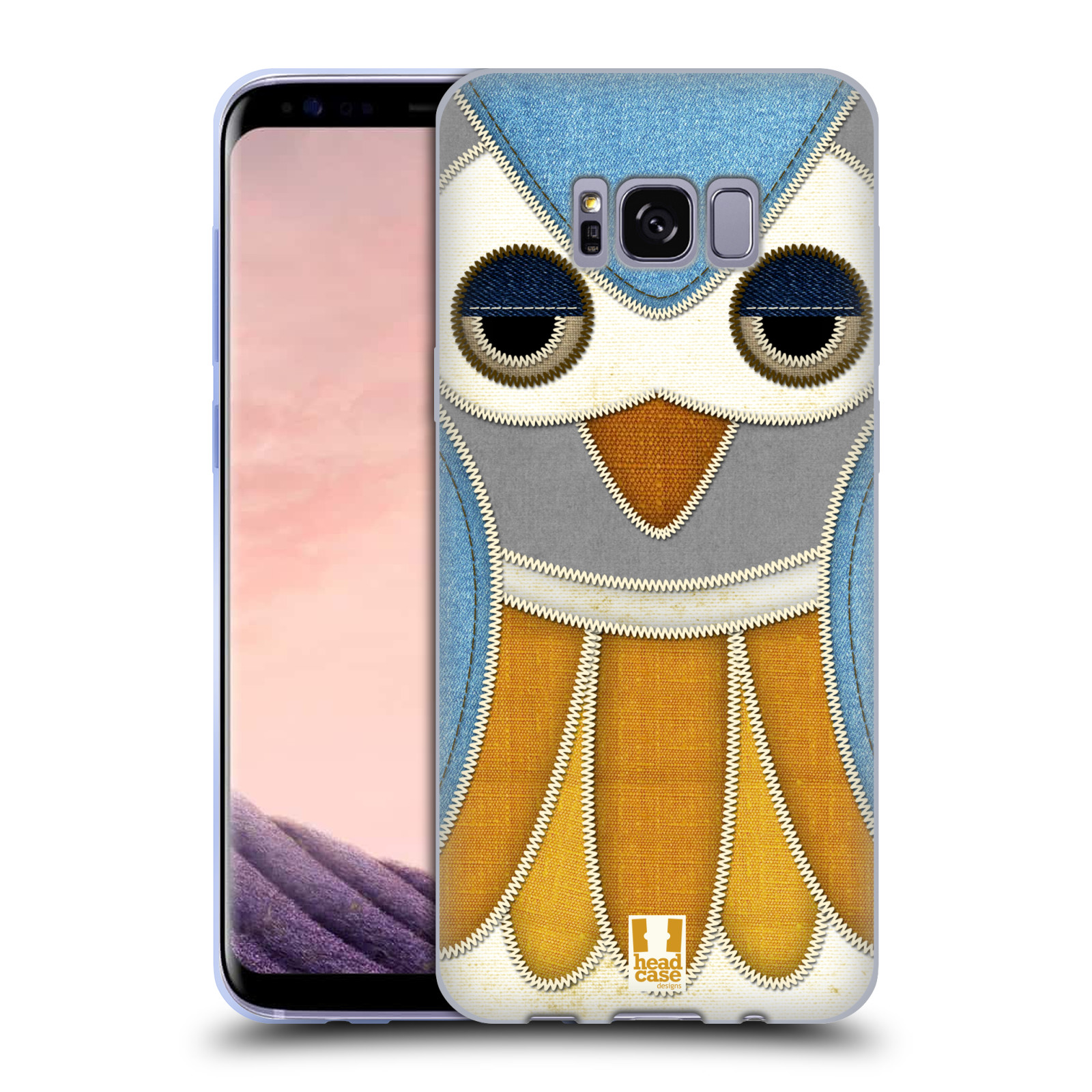 HEAD-CASE-DESIGNS-OWL-PATCHWORK-SOFT-GEL-CASE-FOR-SAMSUNG-GALAXY-S8